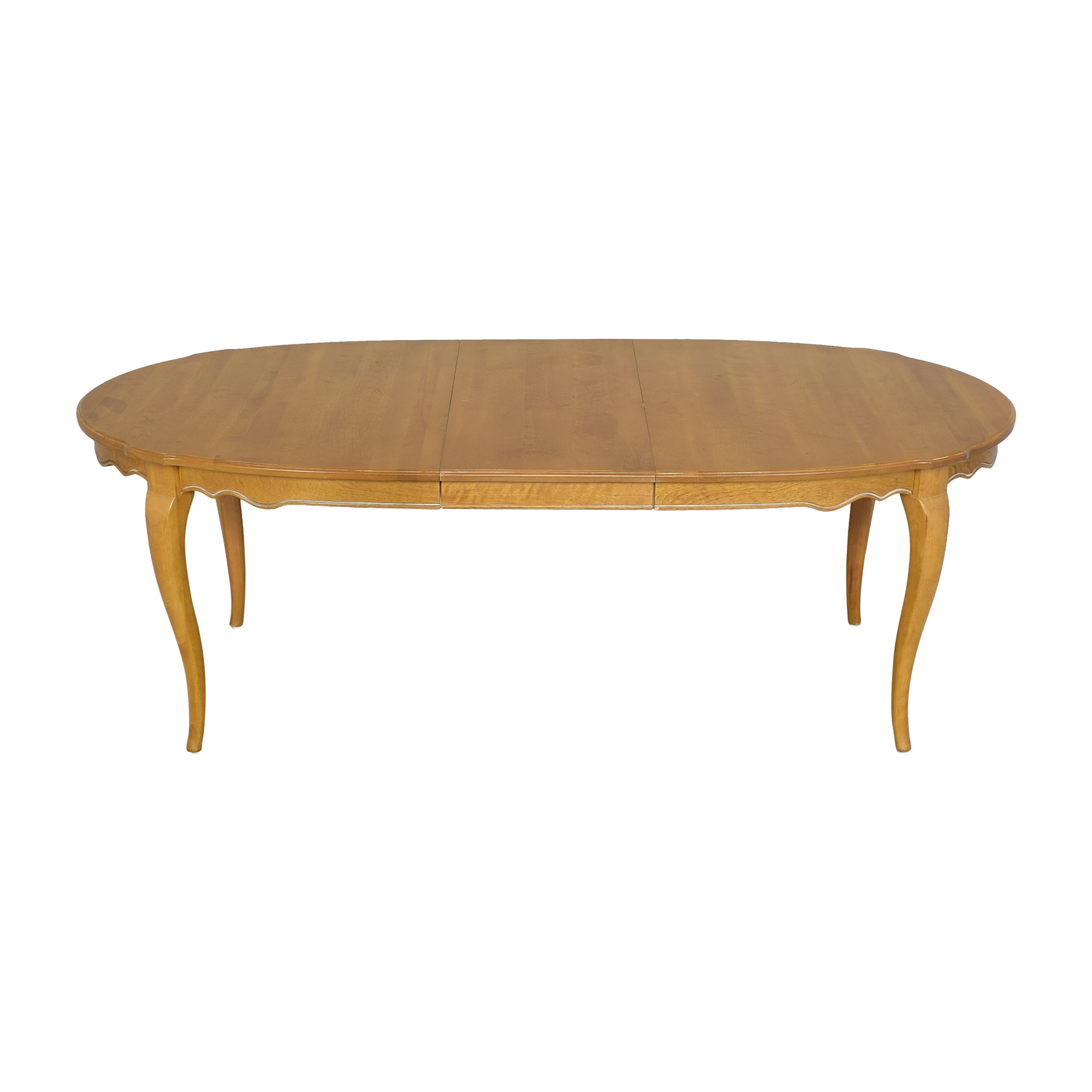 Ethan Allen Ethan Allen Country French Extendable Dining Table discount