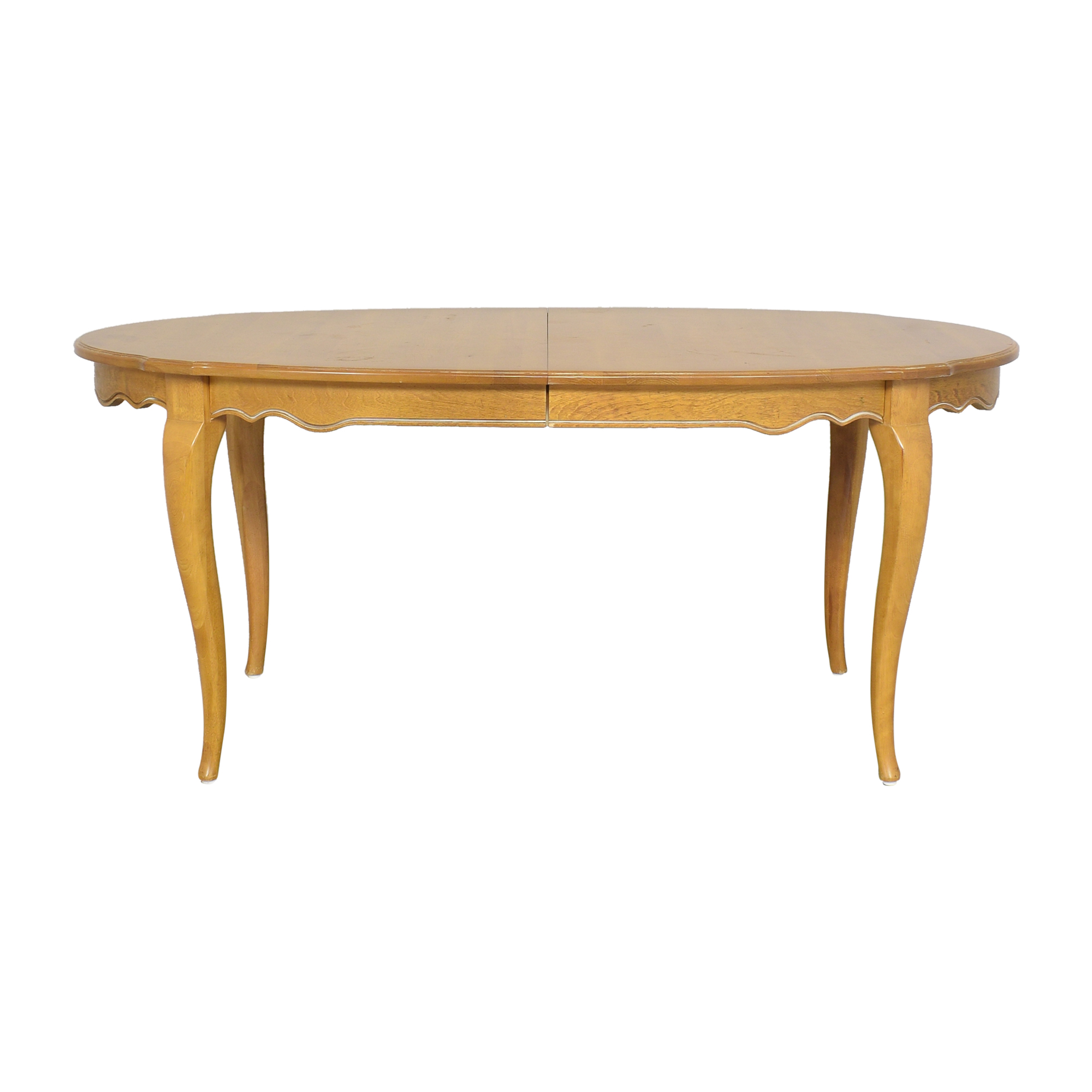 Ethan Allen Country French Extendable Dining Table sale