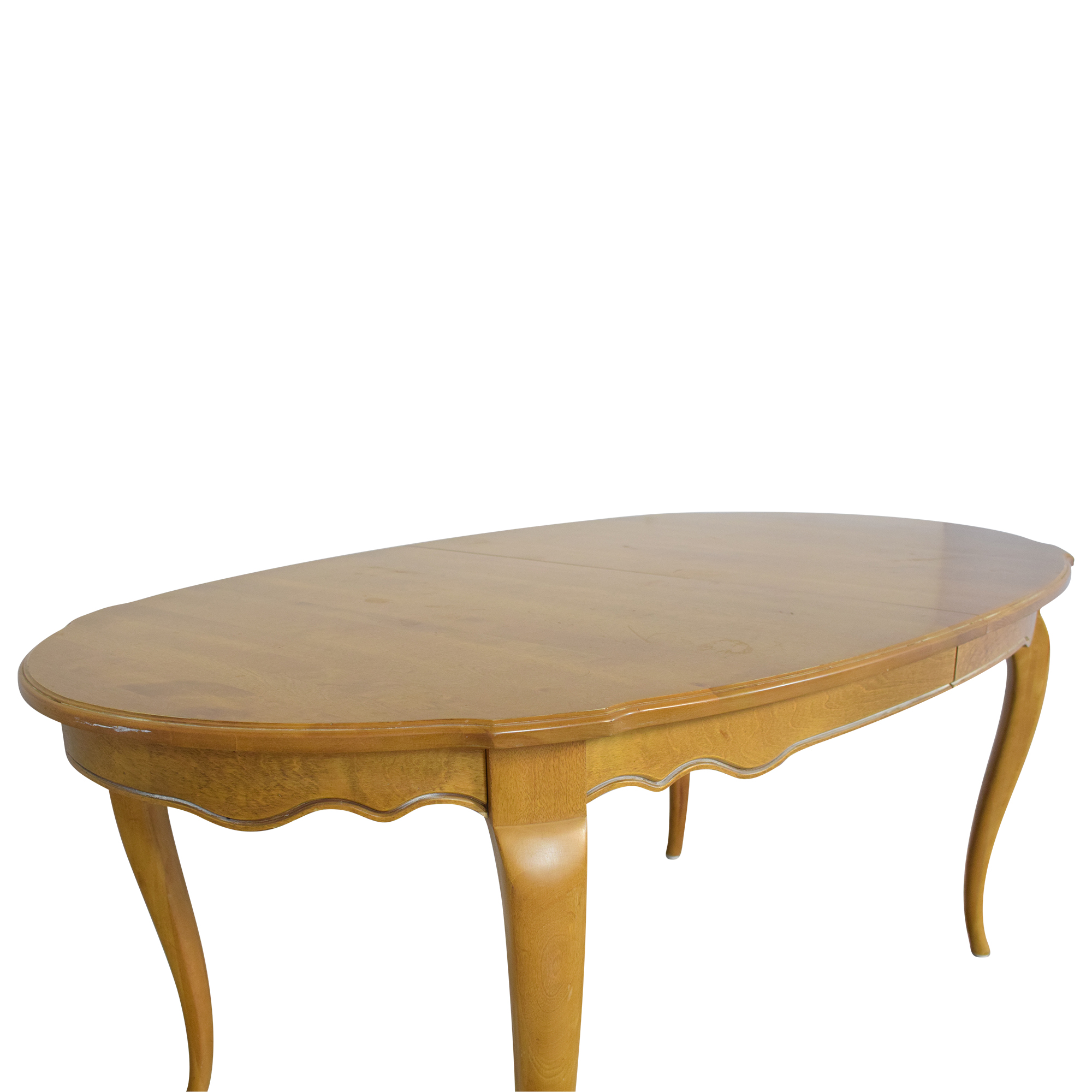 Ethan Allen Ethan Allen Country French Extendable Dining Table nj