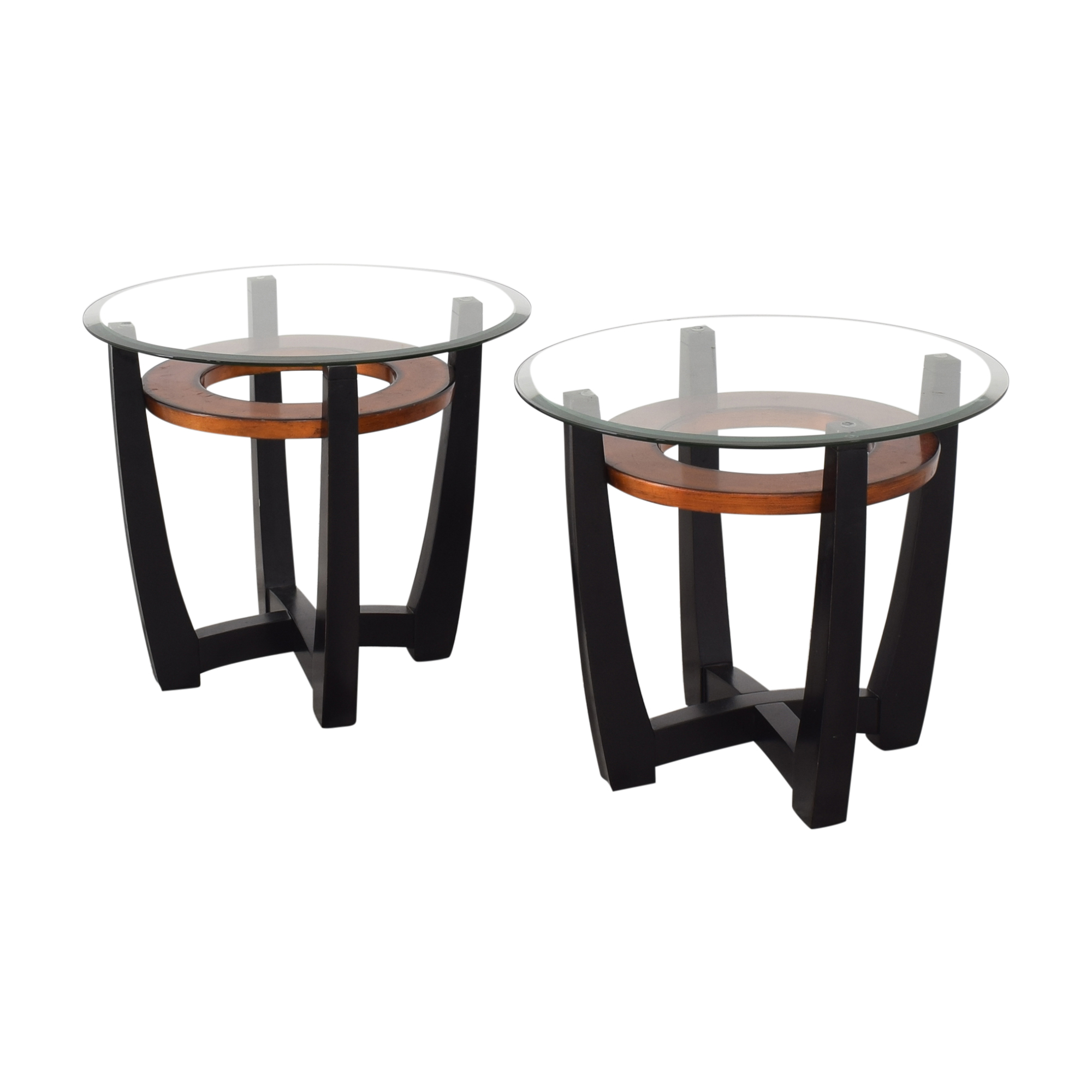 Macy's Macy's Elation Round End Tables ct