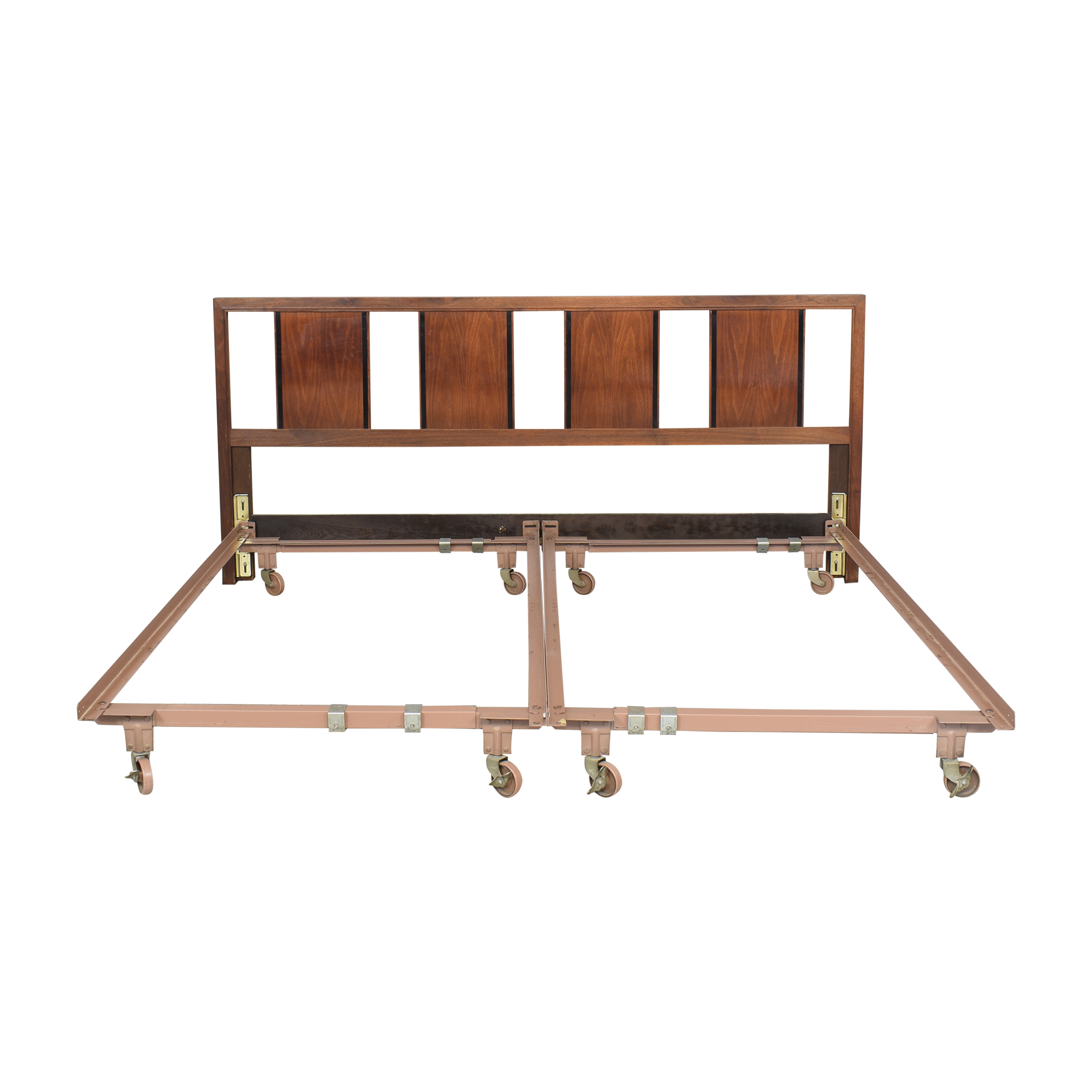 King Bed Frame with Headboard second hand