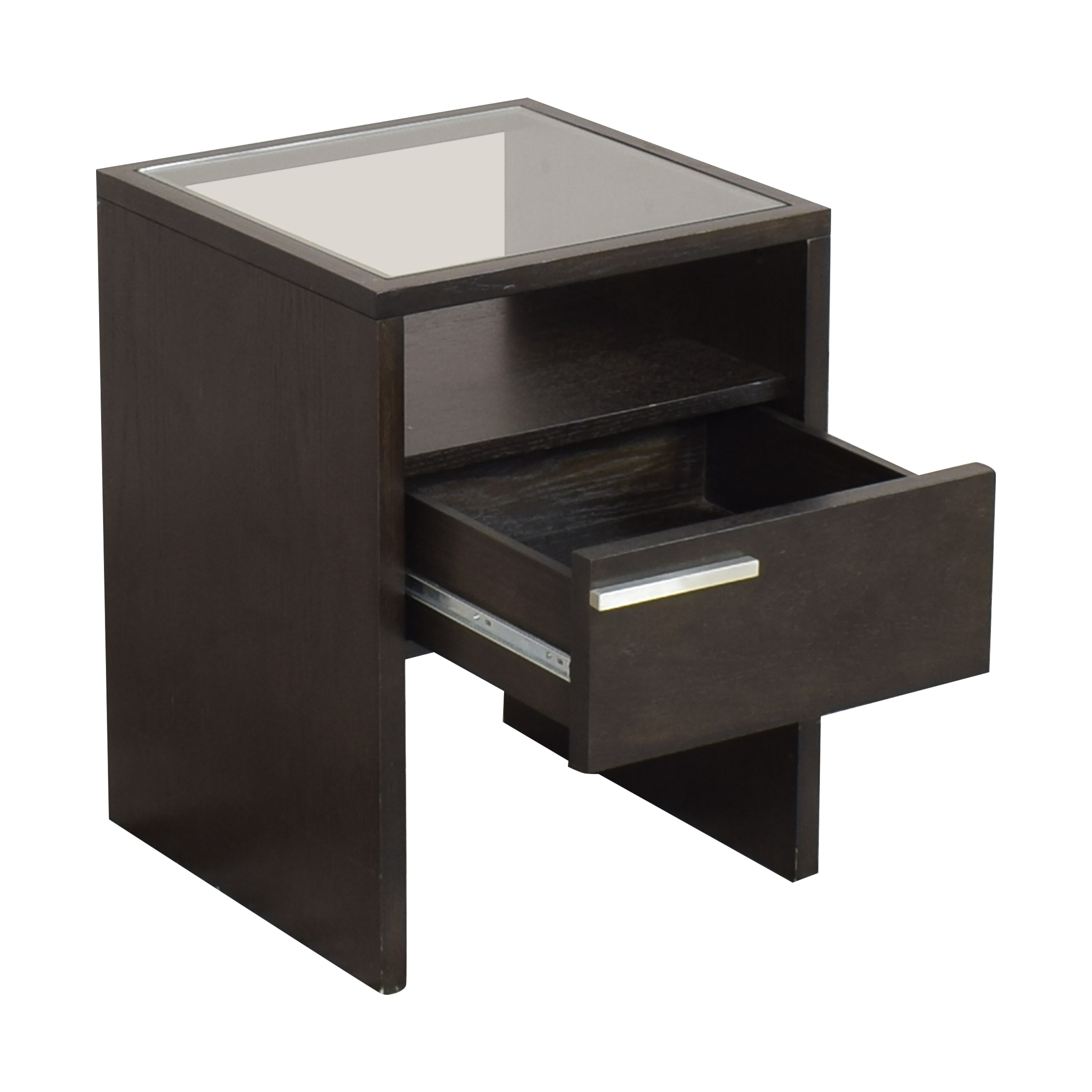 West Elm West Elm Nightstand with Transparent Surface discount