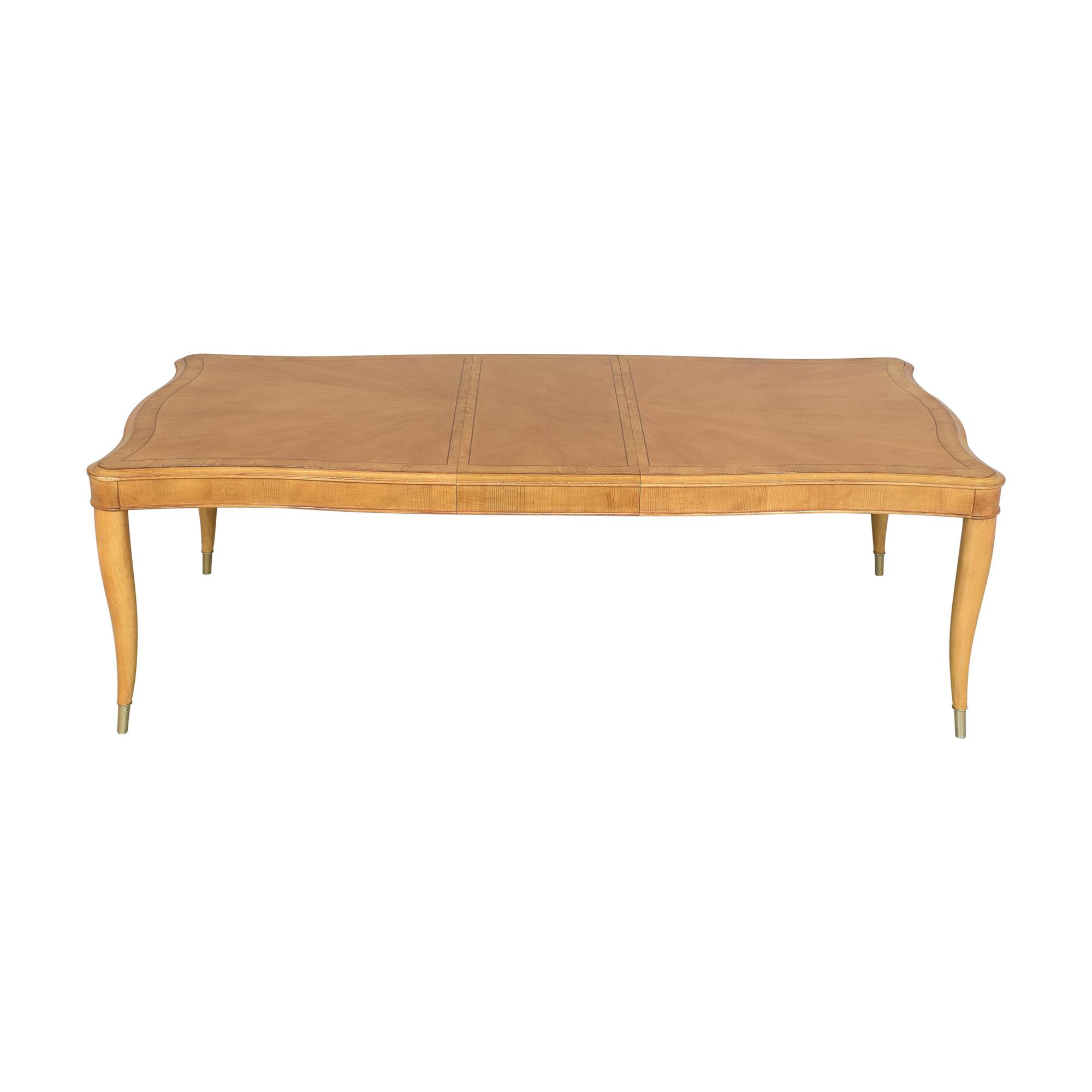 Bernhardt Bernhardt Extendable Dining Table light brown