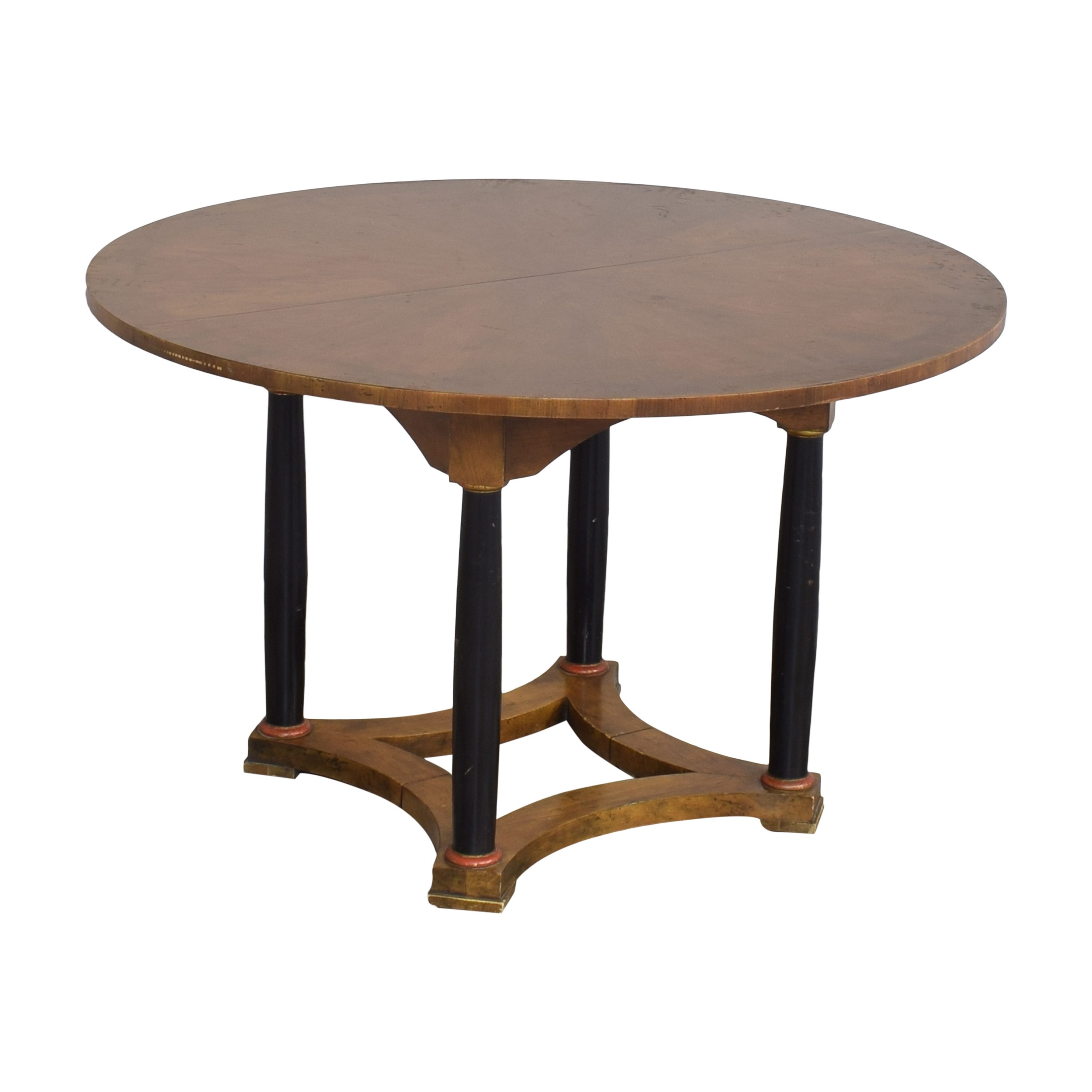 Baker Furniture Baker Furniture Round Dining Table second hand