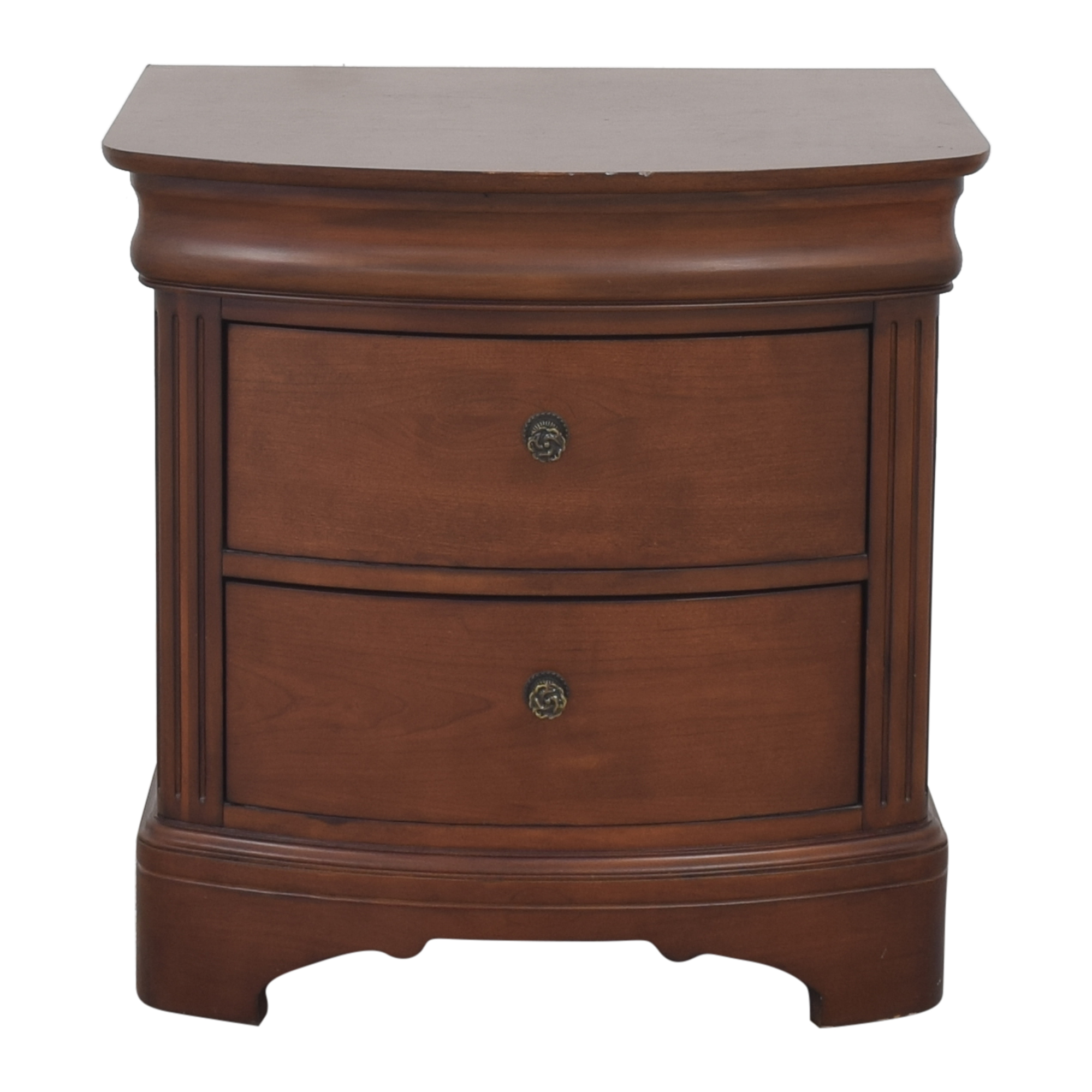 Macy's Macy's Two Drawer Nightstand for sale