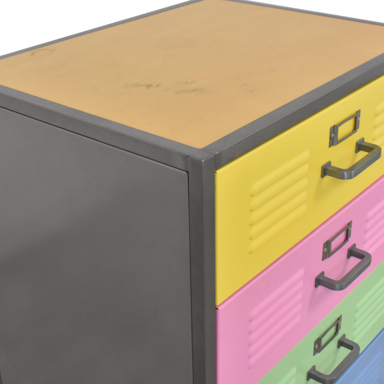 Pottery Barn Teen Pottery Barn Teen Locker Four Drawer Dresser coupon
