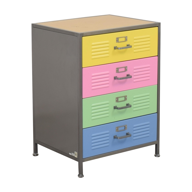buy Pottery Barn Teen Locker Four Drawer Dresser Pottery Barn Teen Dressers