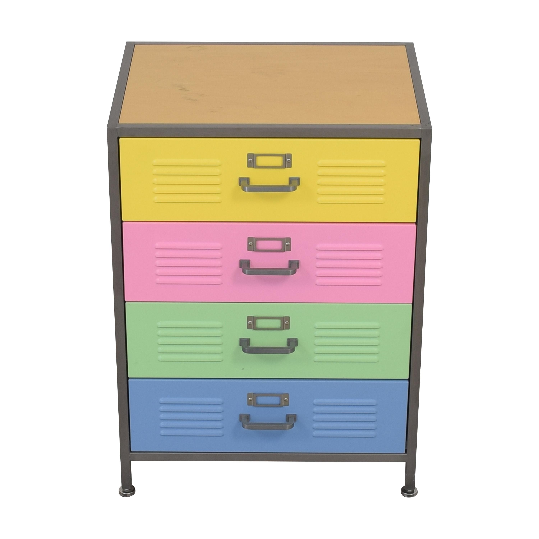 Pottery Barn Teen Pottery Barn Teen Locker Four Drawer Dresser