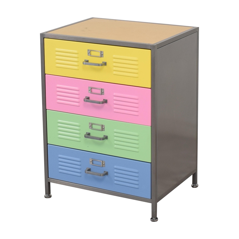 Pottery Barn Teen Pottery Barn Teen Locker Four Drawer Dresser for sale