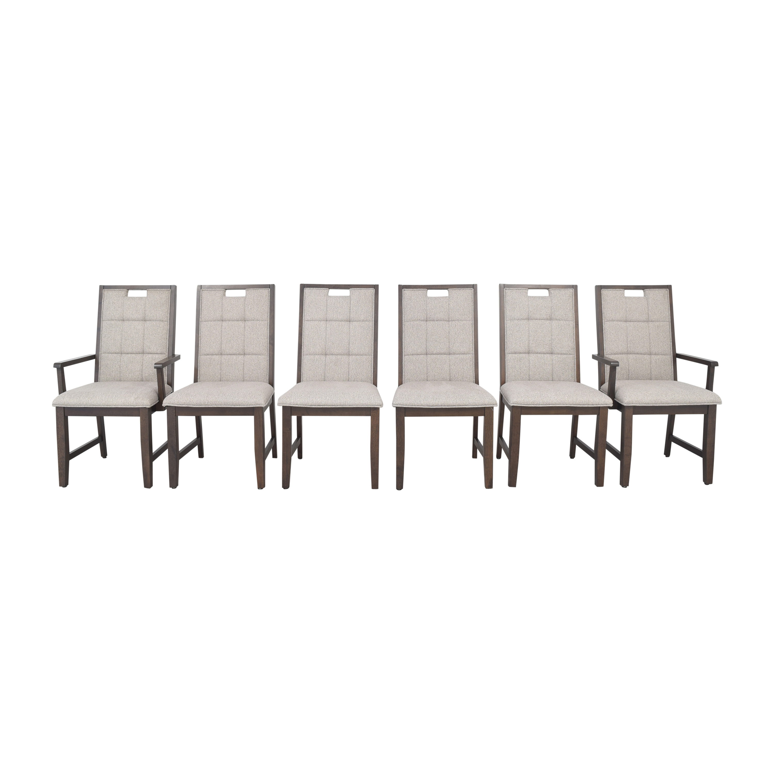 Raymour & Flanigan Raymour & Flanigan Andell Dining Chairs second hand