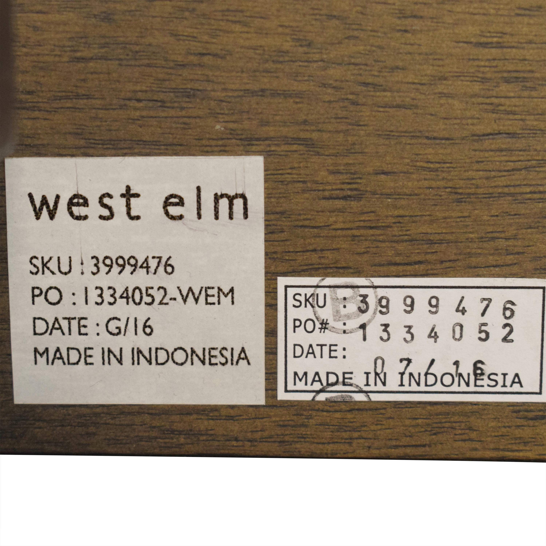 West Elm West Elm Massaro Platform King Bed nj