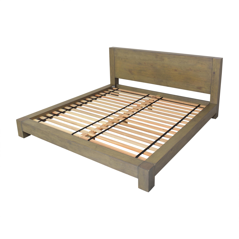 shop West Elm Massaro Platform King Bed West Elm Beds