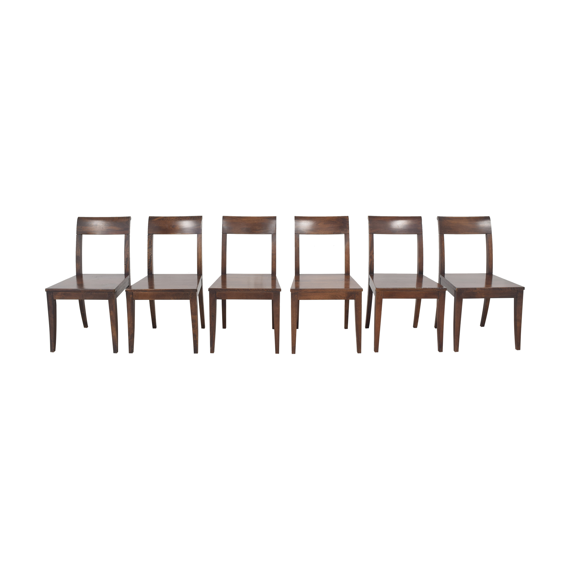 Crate & Barrel Crate & Barrel Basque Dining Chairs for sale