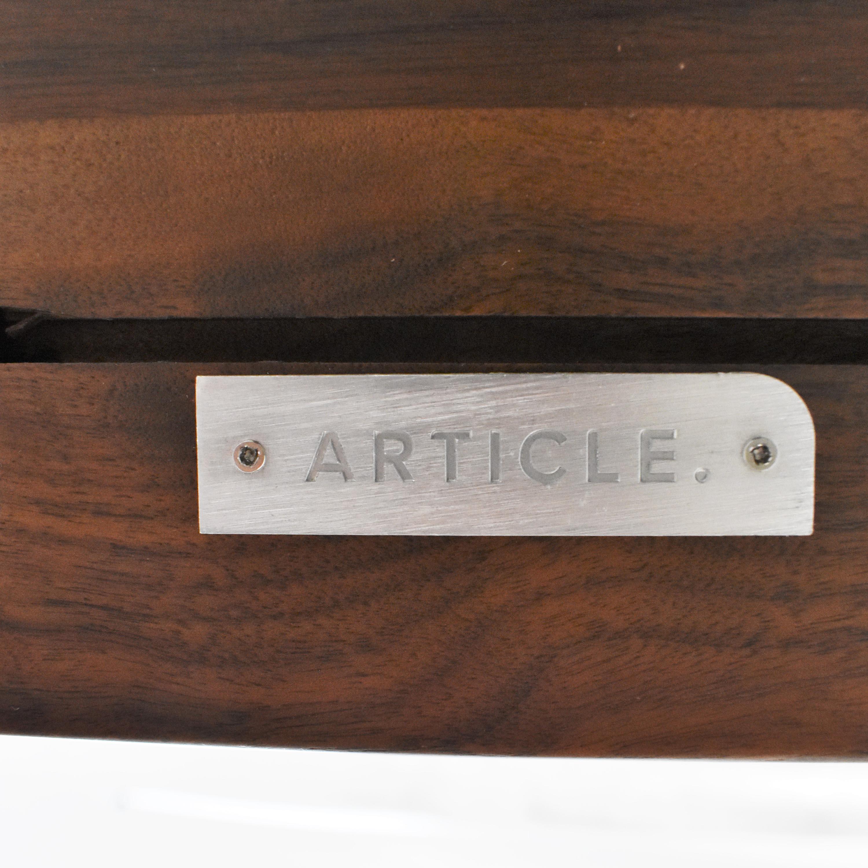 Article Seno Rectangular Bar Table / Tables