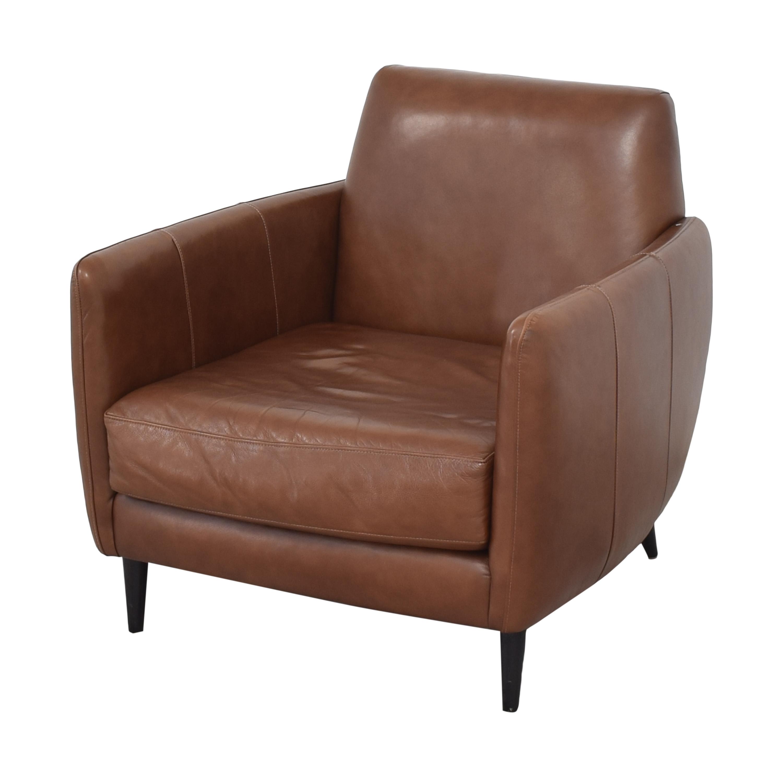 CB2 CB2 Parlour Accent Chair discount