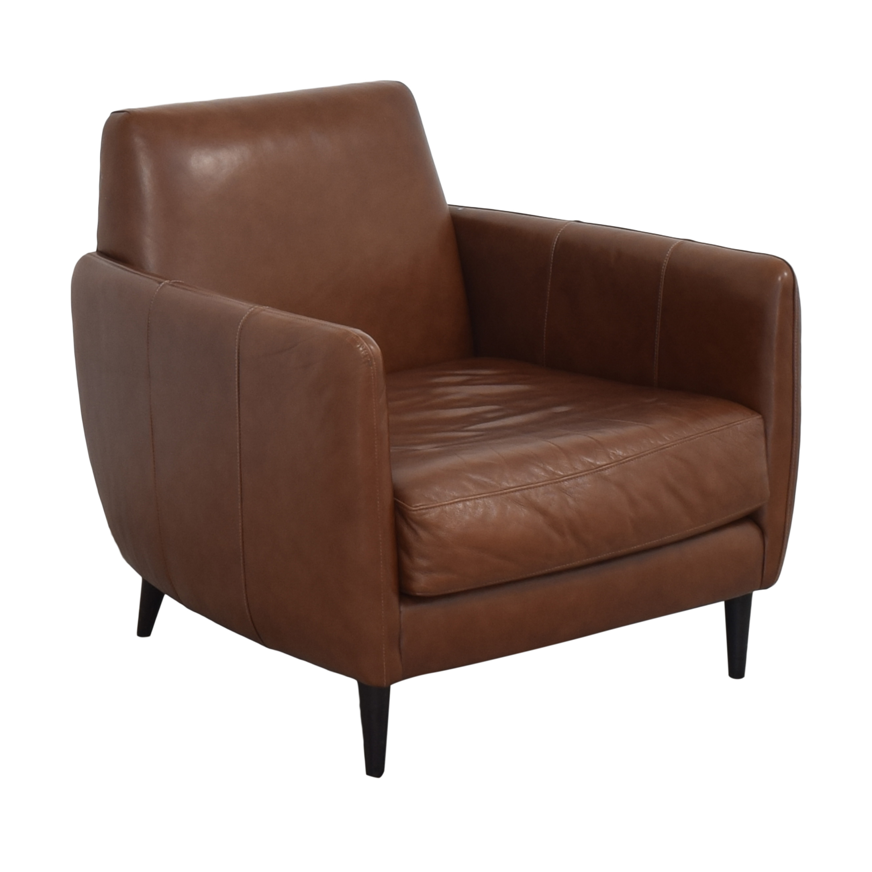 buy CB2 Parlour Accent Chair CB2 Chairs