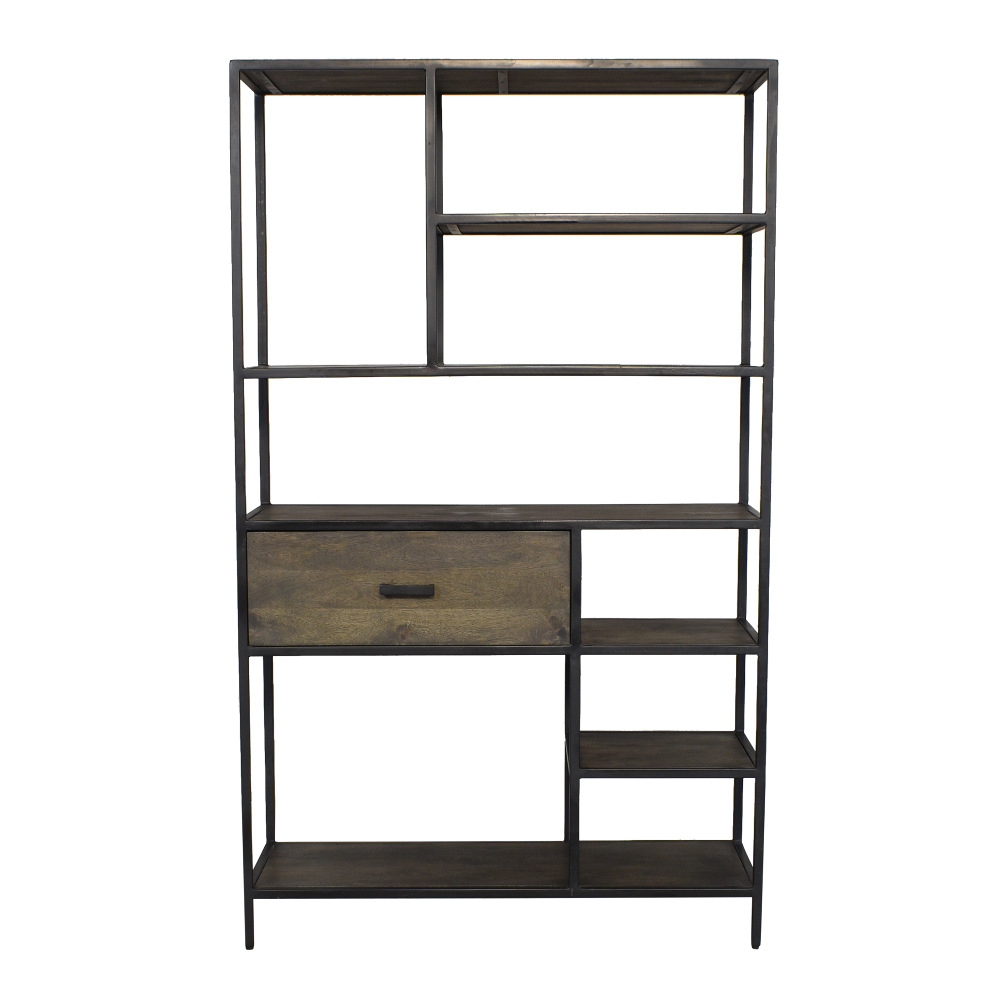Coast to Coast Accents Coast to Coast Accents Open Frame Bookcase with Drawer ct