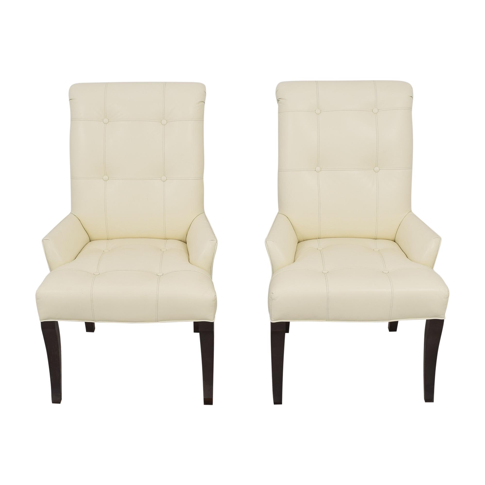 Ethan Allen Ethan Allen Verlaine Dining Armchairs for sale