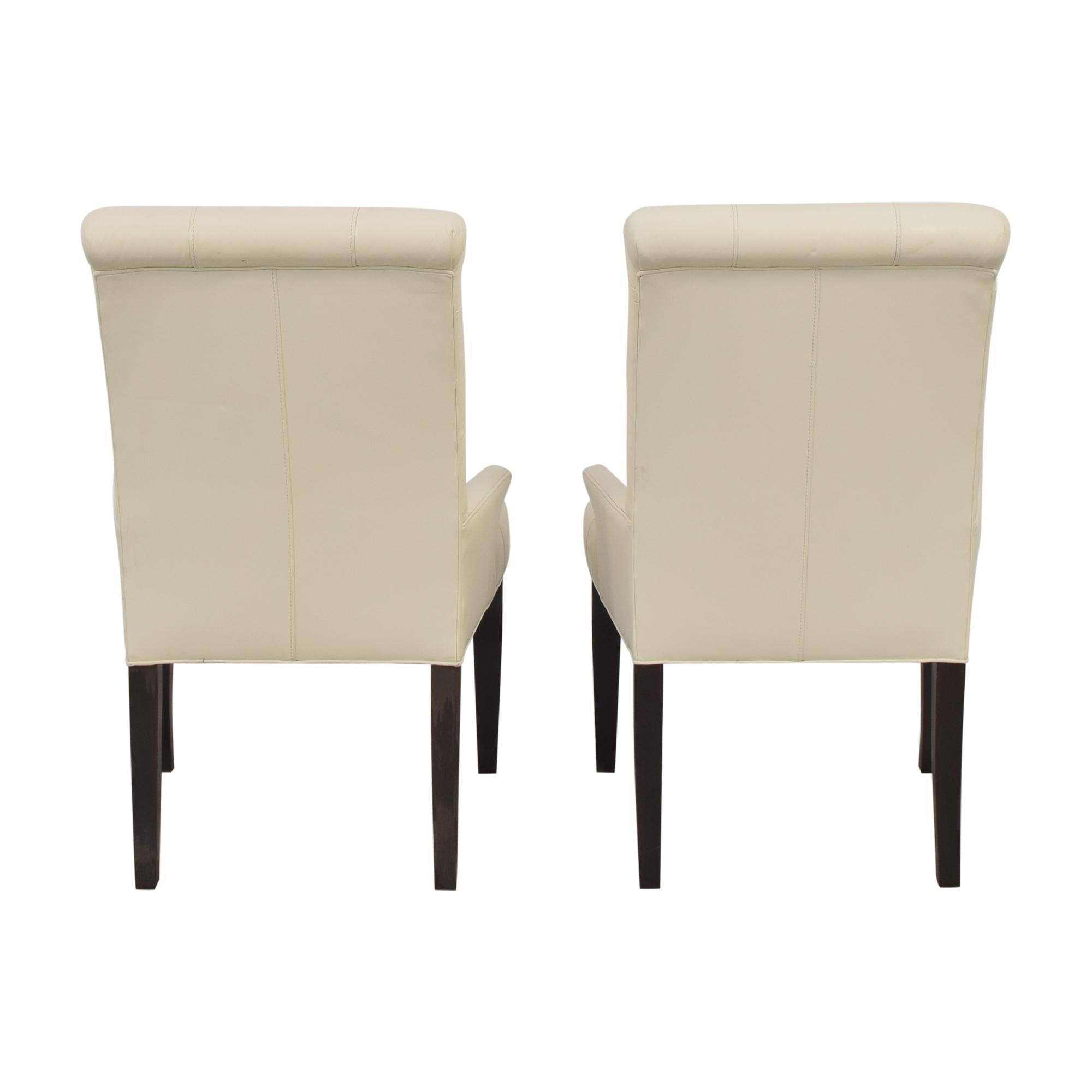 Ethan Allen Ethan Allen Verlaine Dining Armchairs Chairs