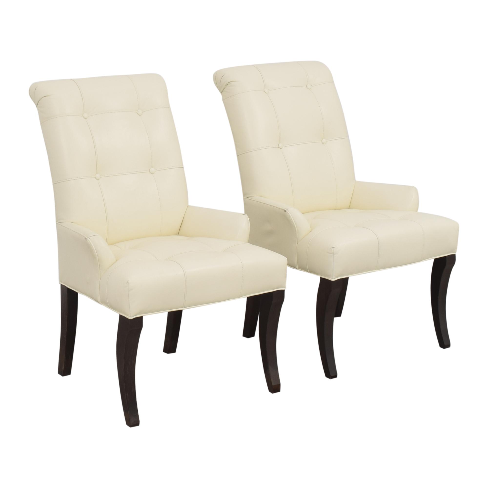 shop Ethan Allen Ethan Allen Verlaine Dining Armchairs online