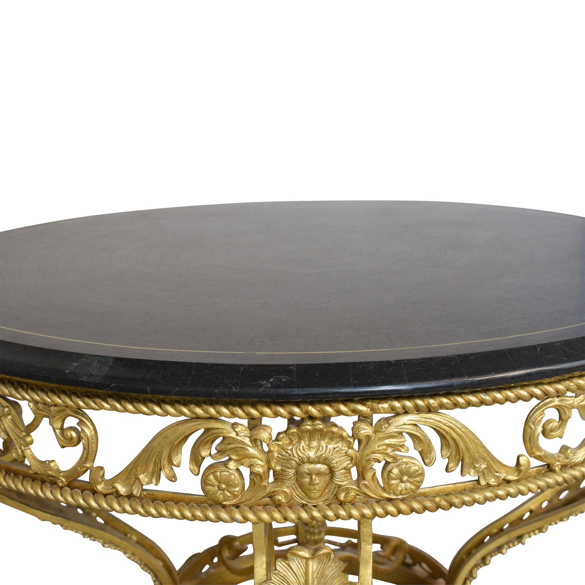 Henredon Furniture Henredon Furniture Ornate Foyer Table dimensions