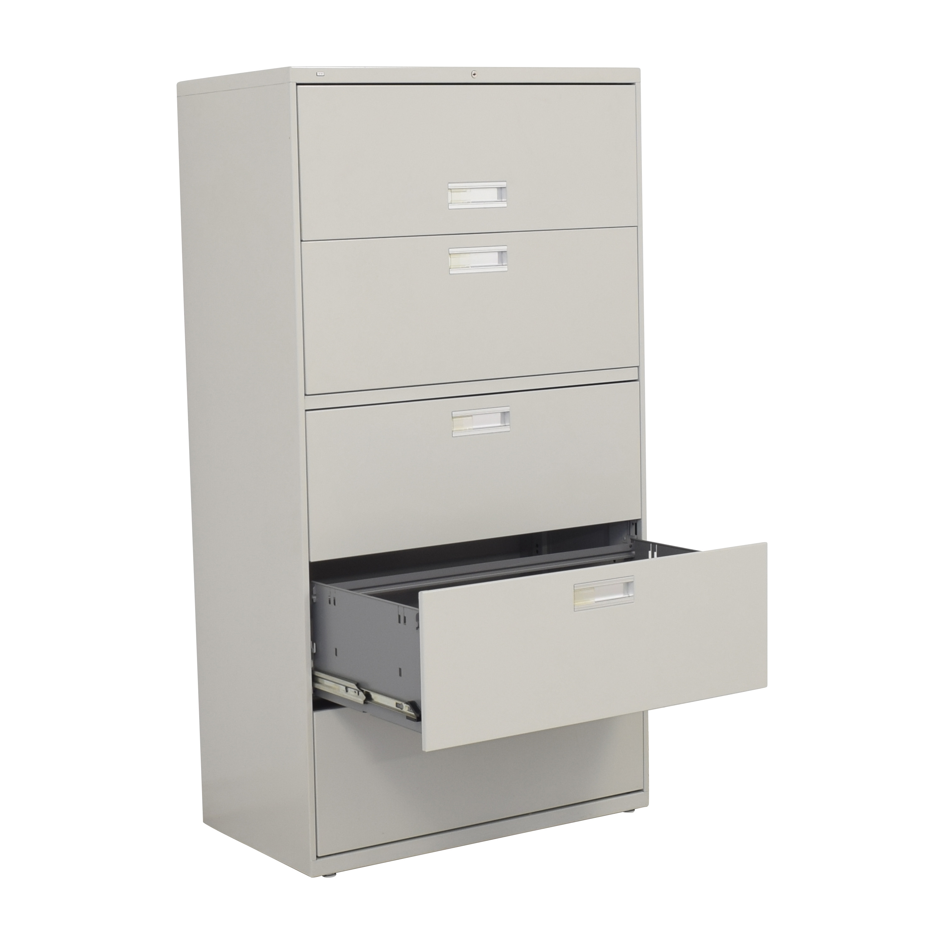 Hon Hon 600 Series Lateral File with Shelf used