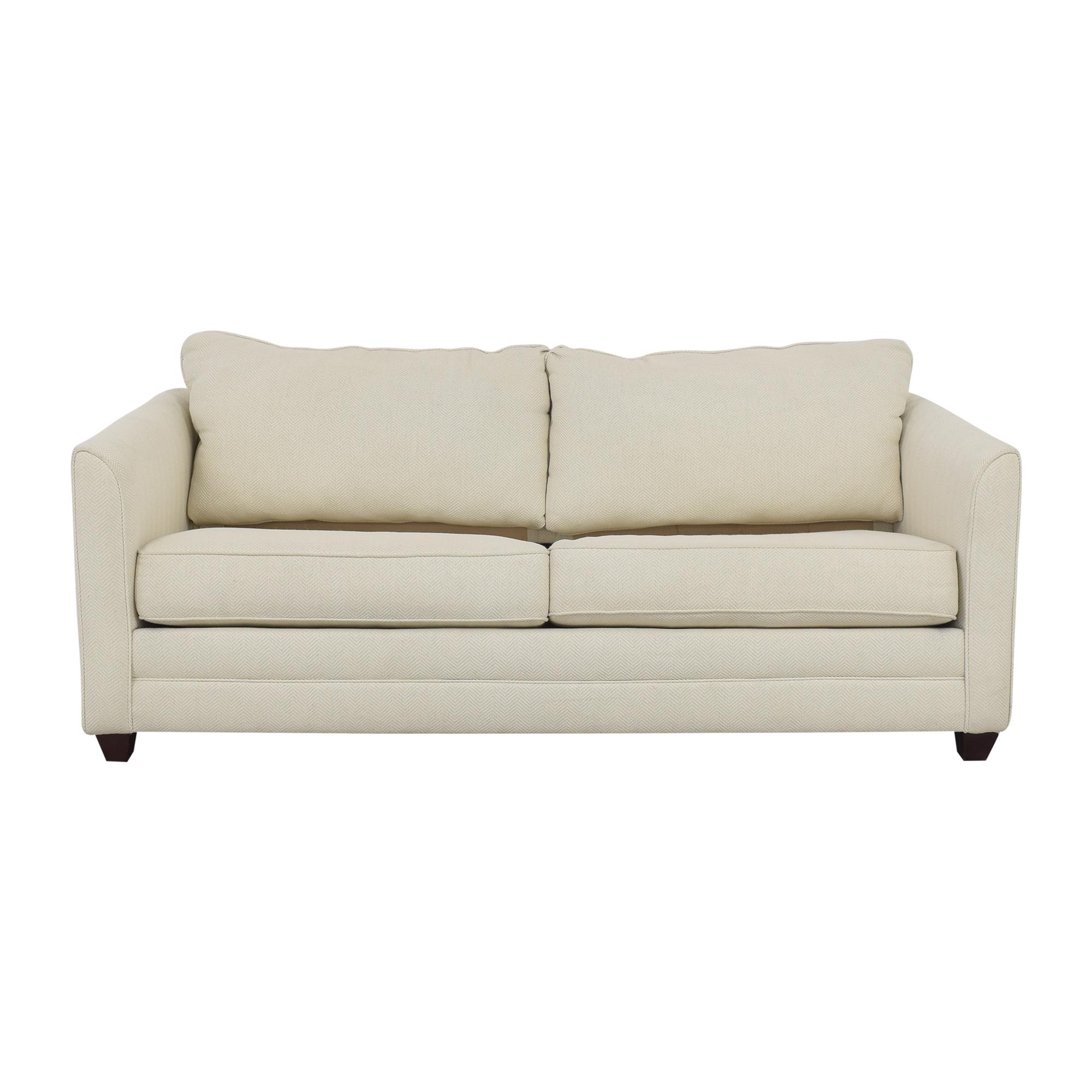 Klaussner Klaussner Tilly Two Cushion Sleeper Sofa nj