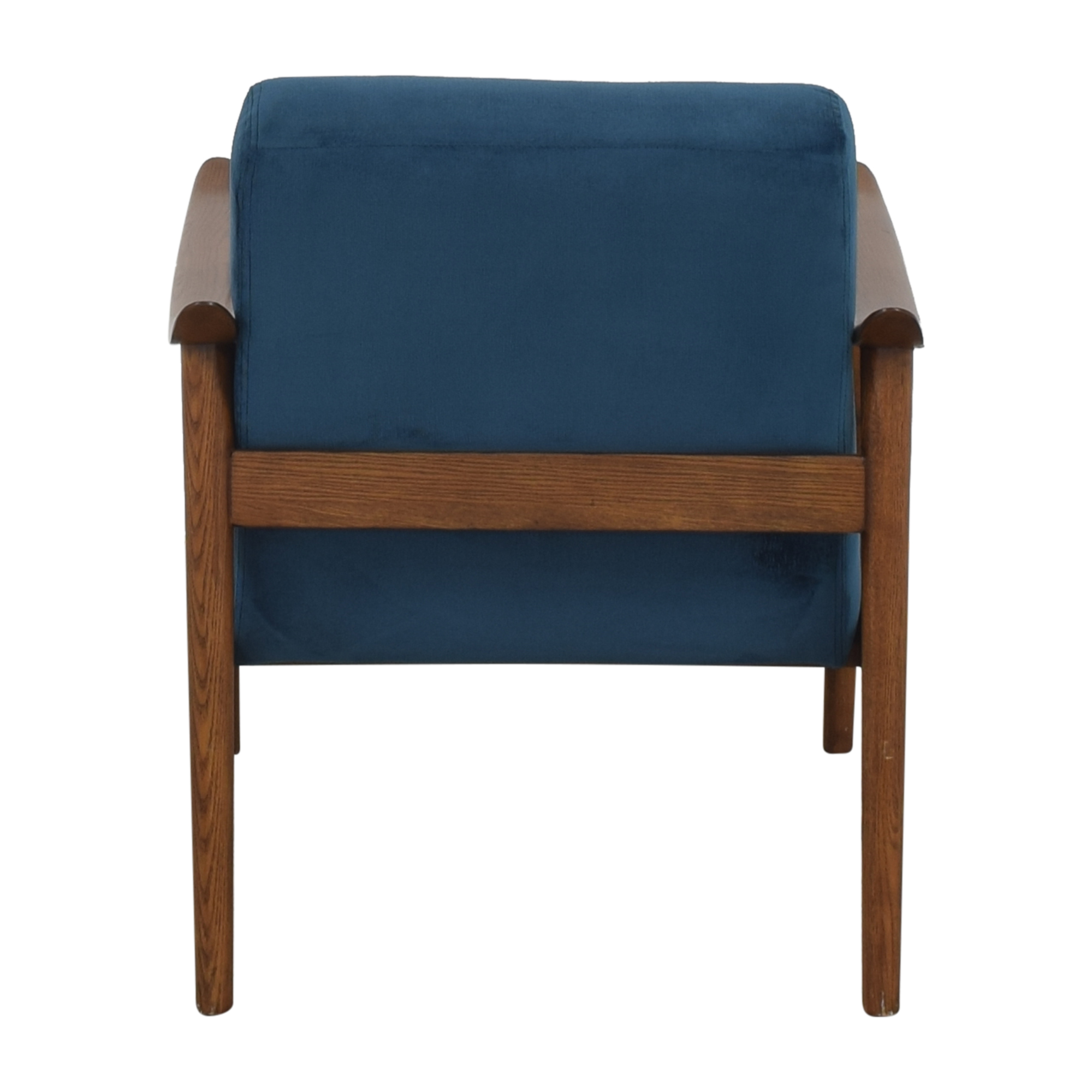 West Elm West Elm Mid-Century Show Wood Upholstered Chair second hand