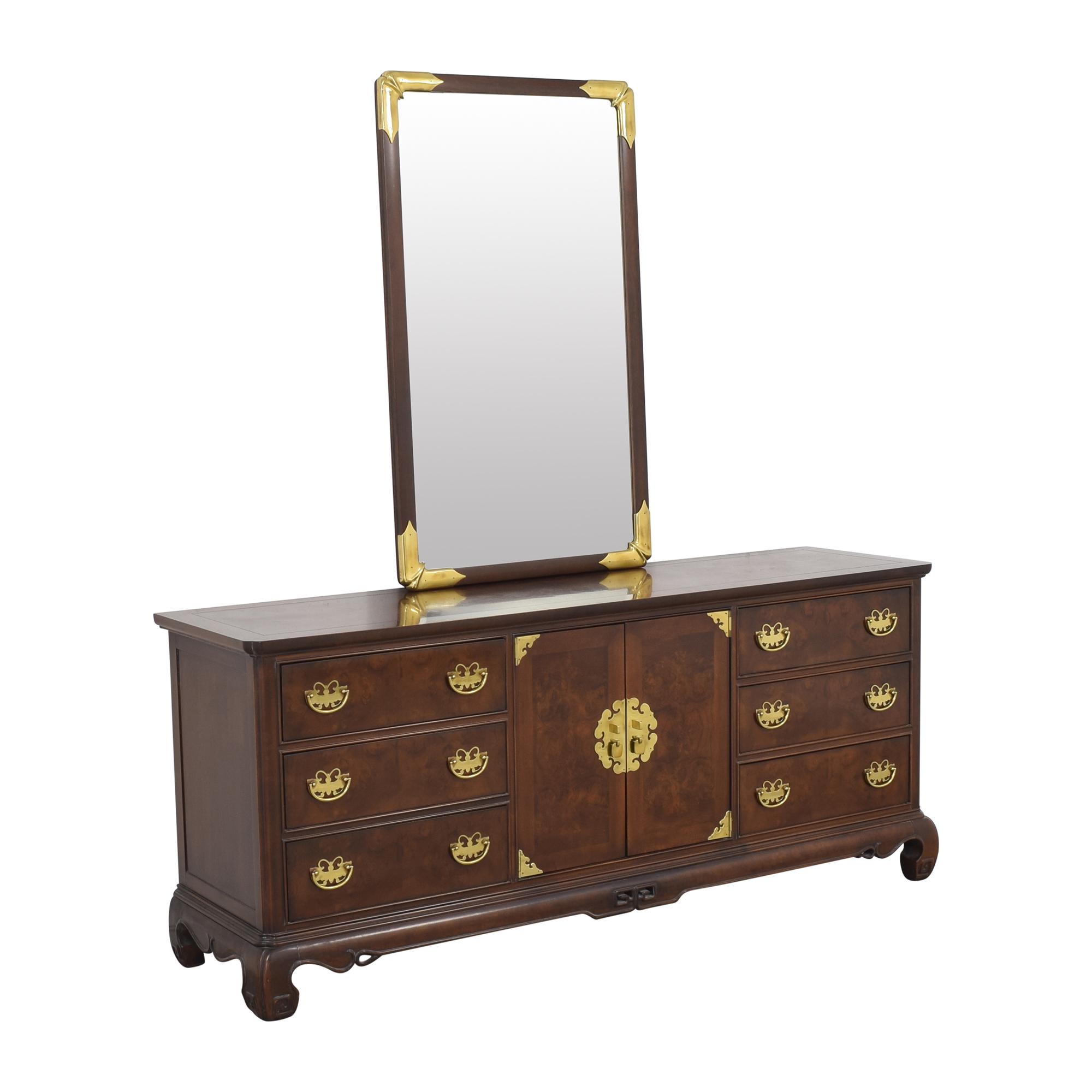 Heritage Henredon Heritage Henredon Dresser with Mirror coupon