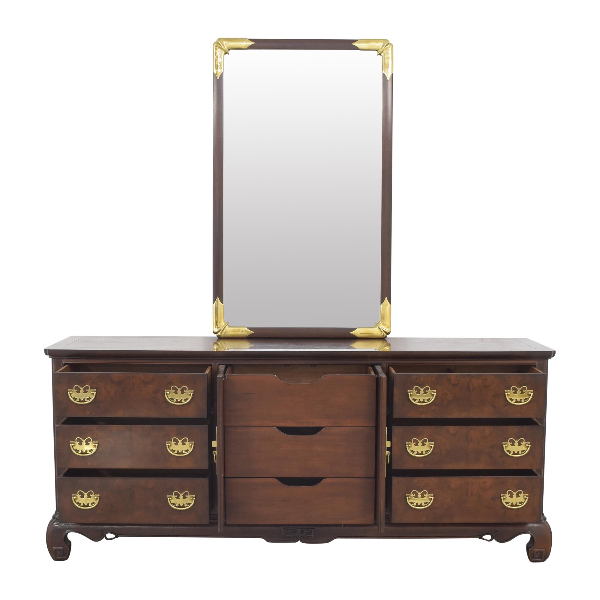 Heritage Henredon Heritage Henredon Dresser with Mirror ct
