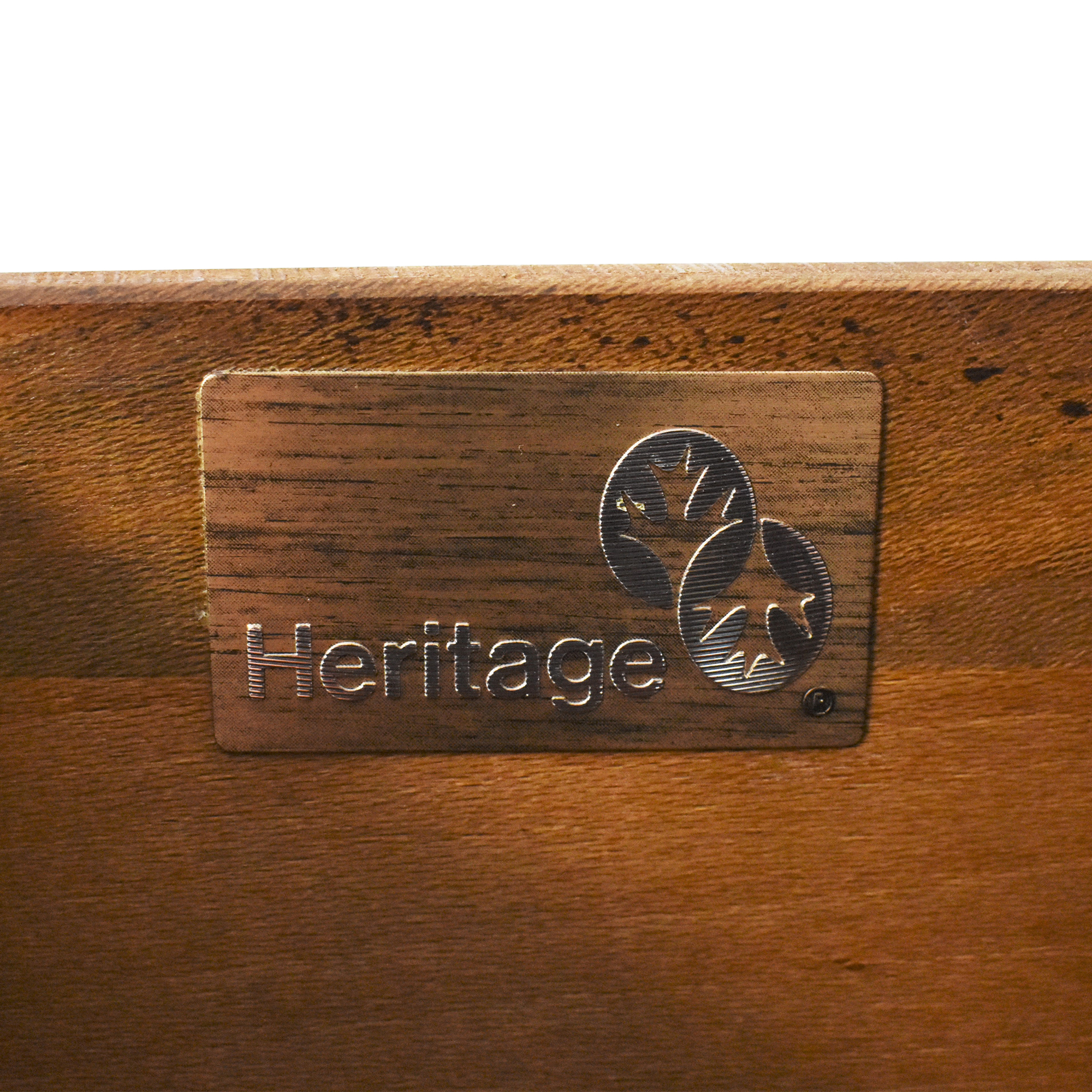 shop Heritage Henredon Dresser with Mirror Heritage Henredon Storage