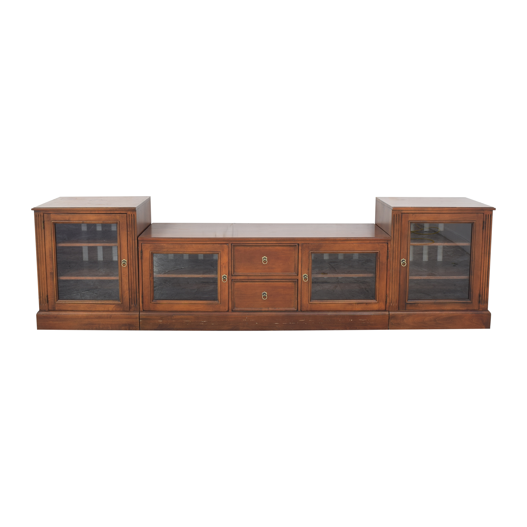Ethan Allen Ethan Allen British Classics Media Console Cabinets & Sideboards
