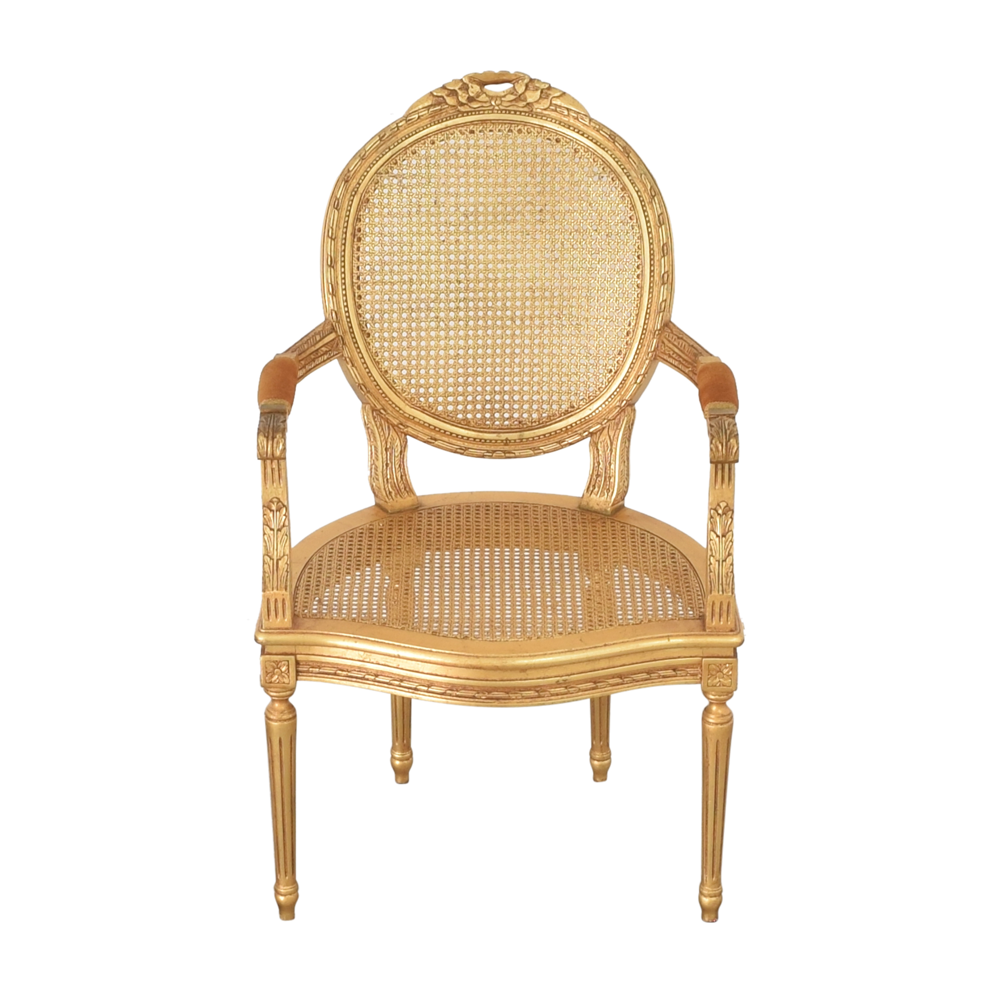 Decorative Crafts Decorative Crafts Louis XVI Fauteuil Armchair nyc