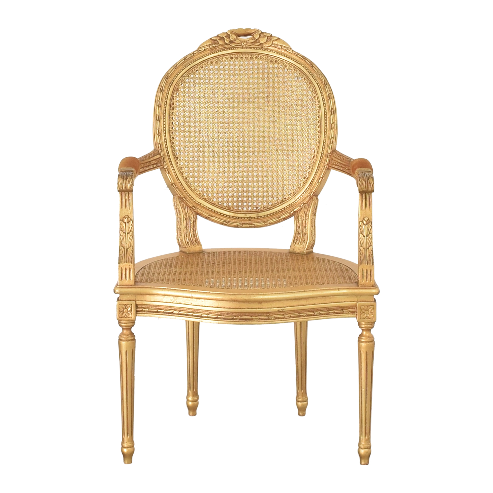 Decorative Crafts Decorative Crafts Louis XVI Fauteuil Armchair second hand