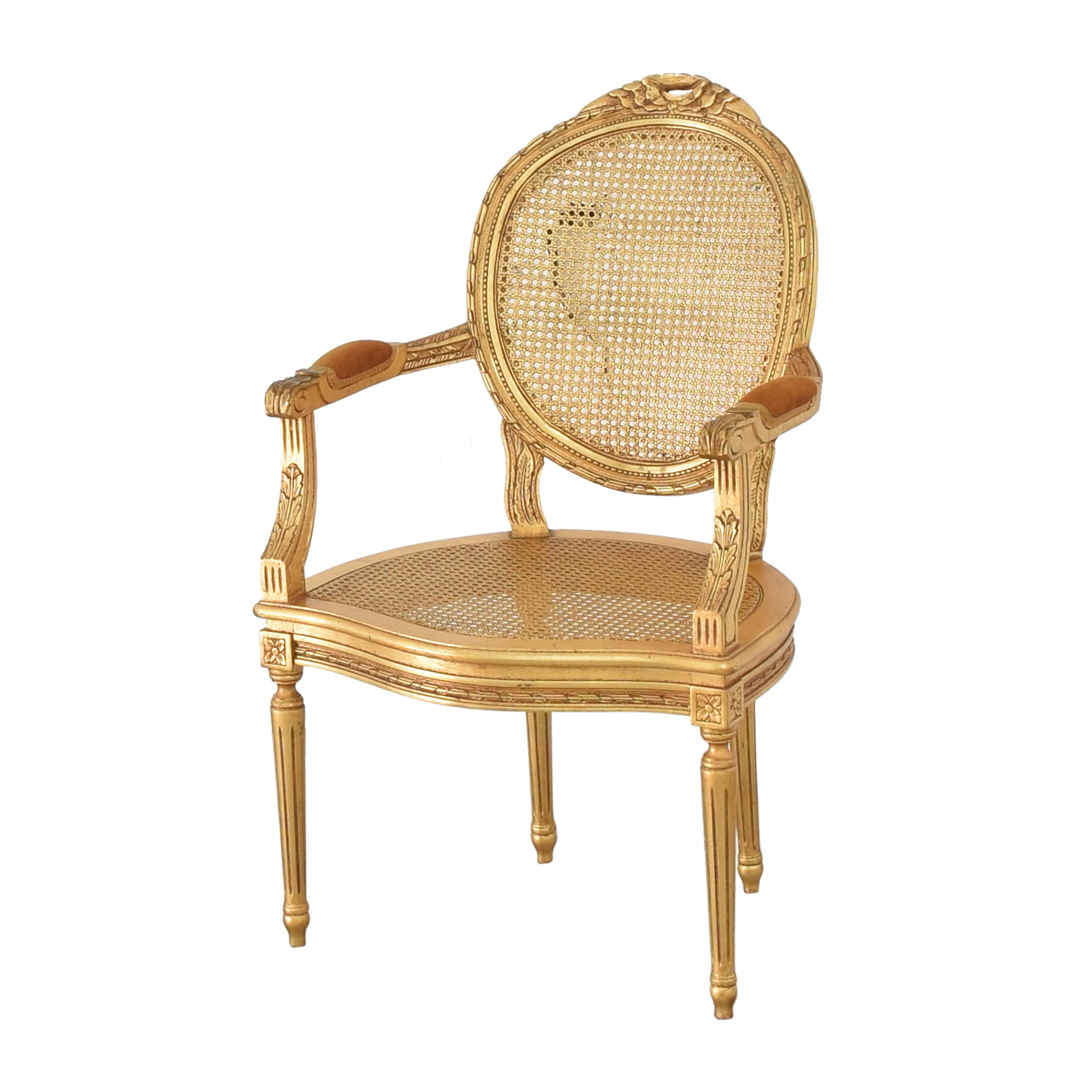 Decorative Crafts Decorative Crafts Louis XVI Fauteuil Armchair dimensions