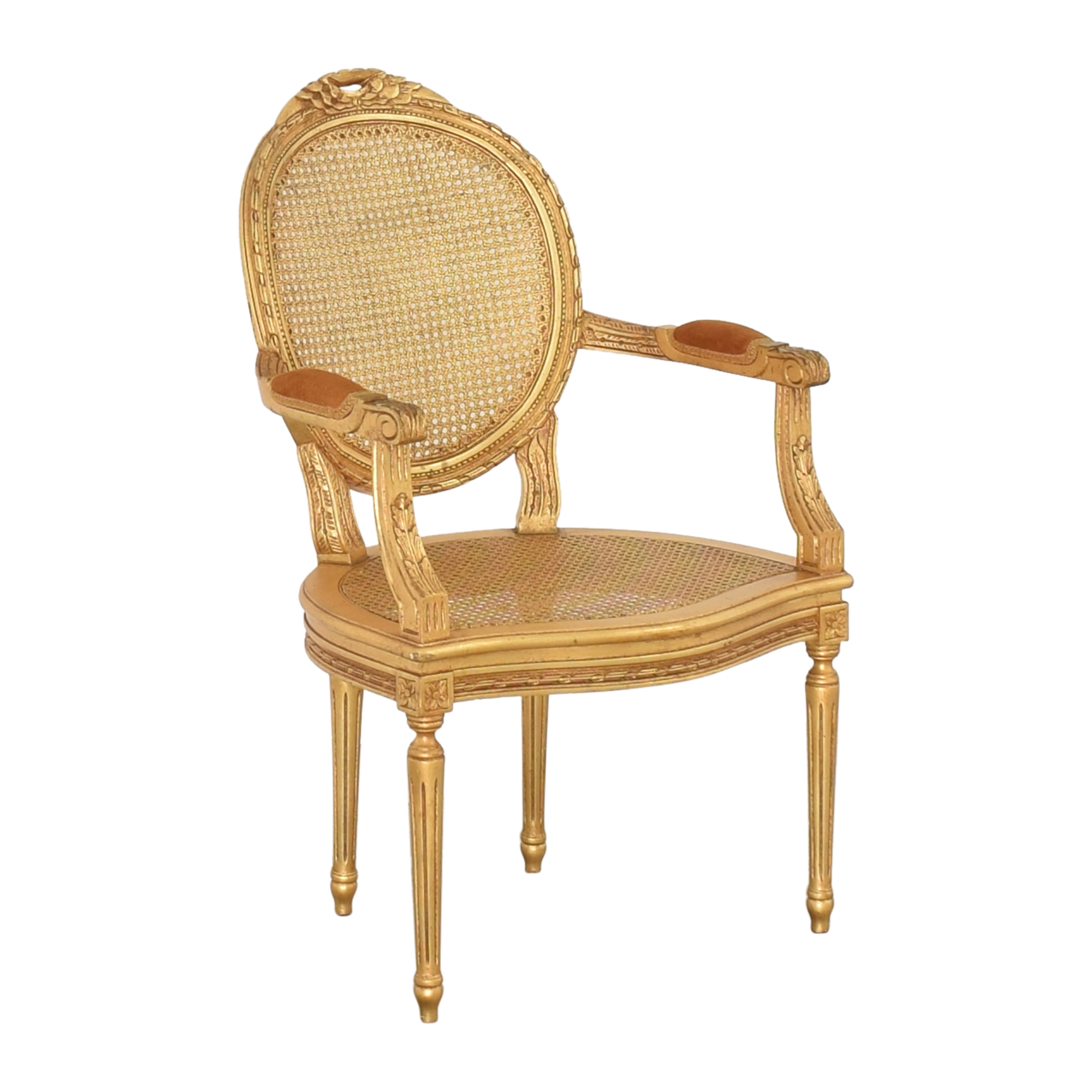 Decorative Crafts Decorative Crafts Louis XVI Fauteuil Armchair ma