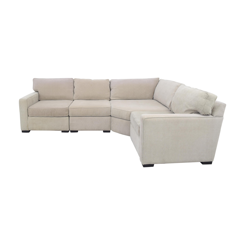 Macy's Macy's Radley Sectional Sofa pa
