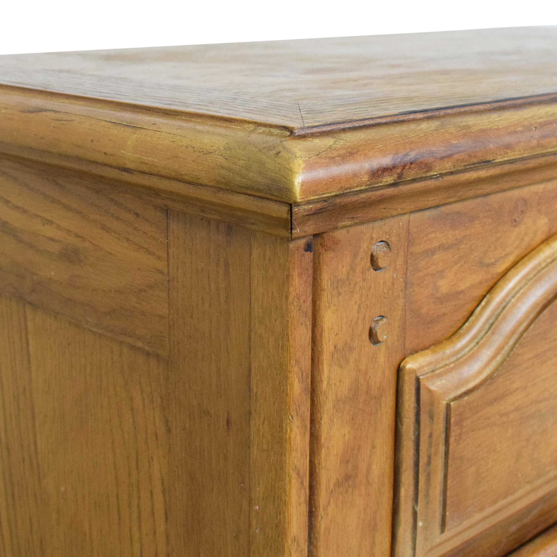 buy Bernhardt Night Stand with Cabinet Bernhardt Tables