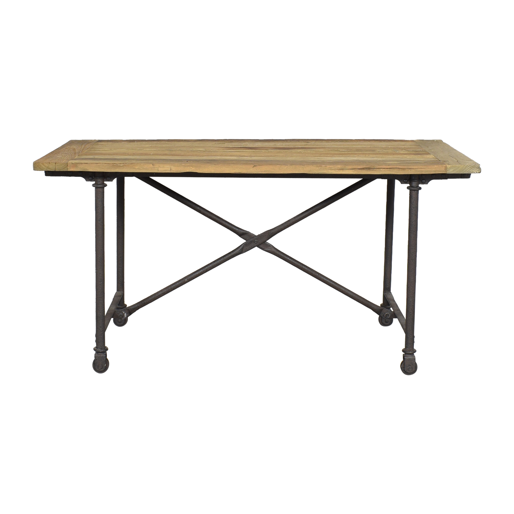 Restoration Hardware Restoration Hardware Flatiron Rectangular Dining Table for sale