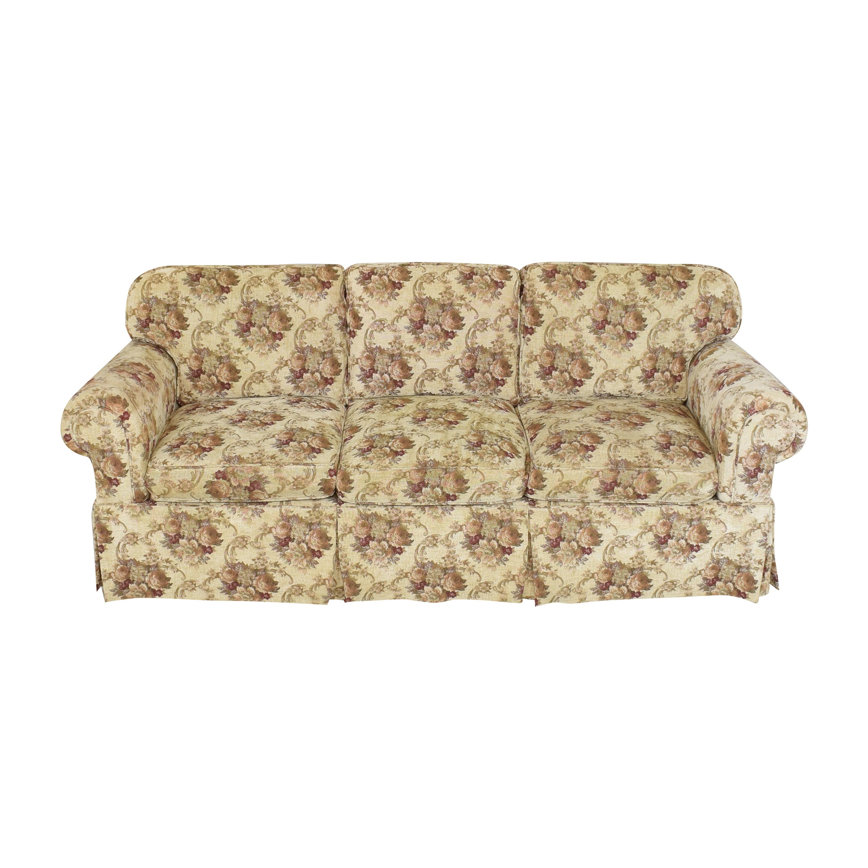 Stickley Furniture Stickley Skirted Sofa ct