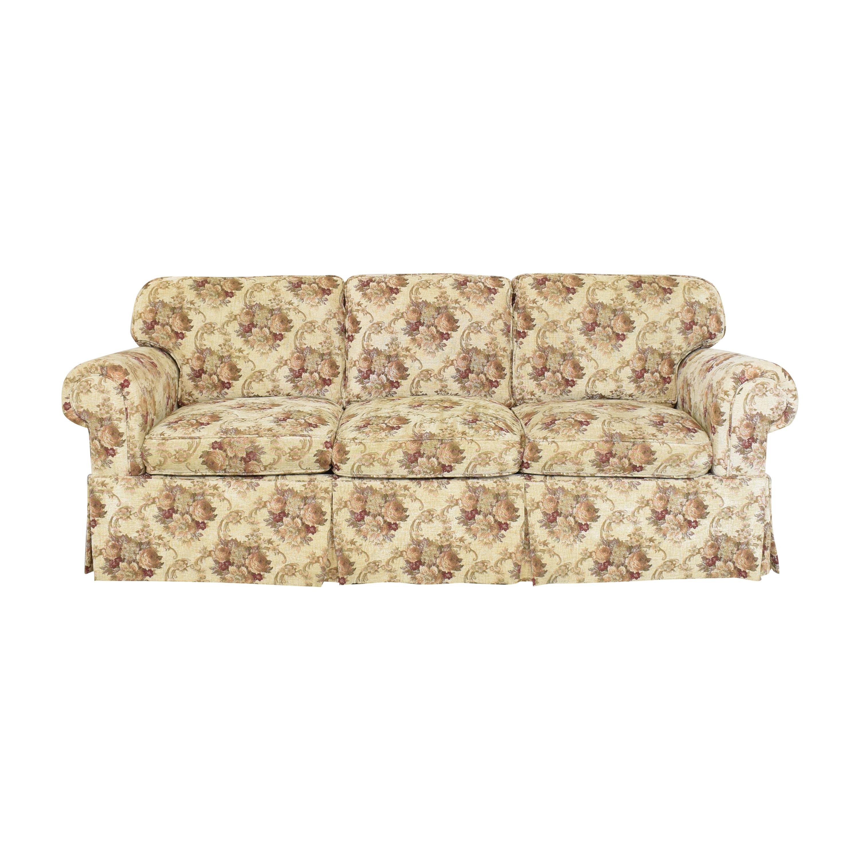 Stickley Skirted Sofa sale