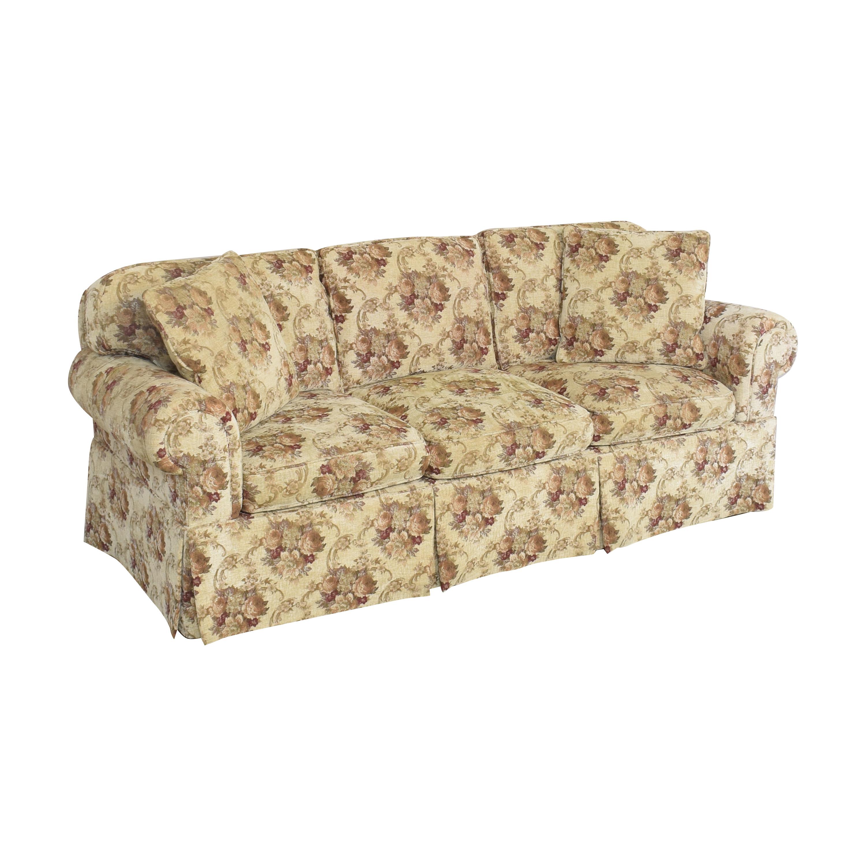 Stickley Skirted Sofa / Classic Sofas