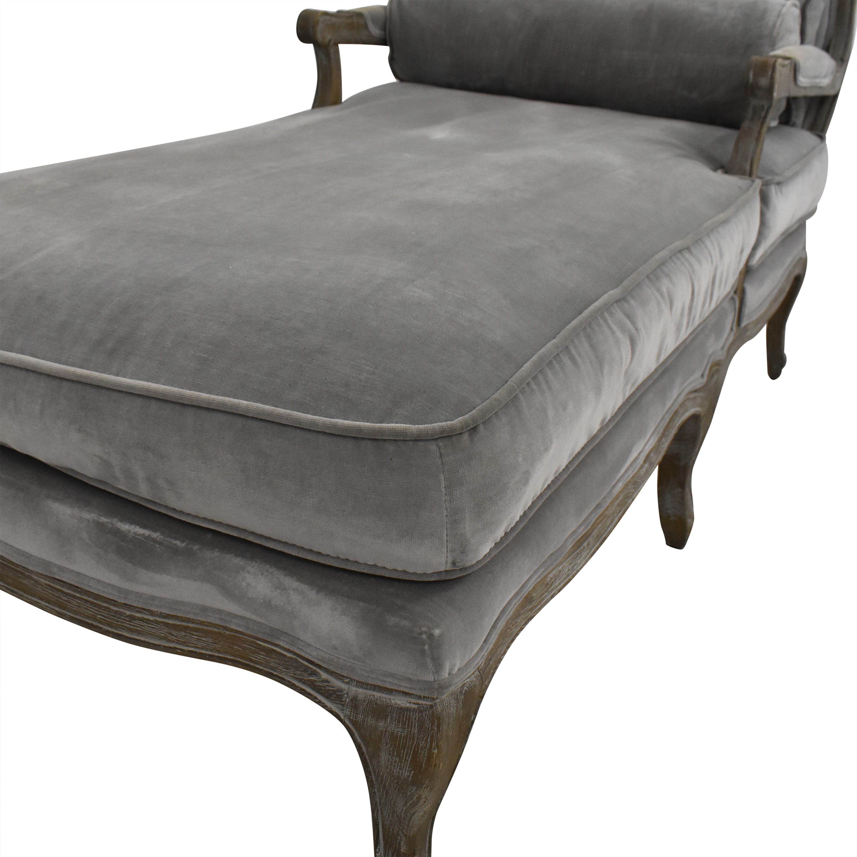 buy Restoration Hardware Chaise Lounge with Cushion Restoration Hardware Chaises