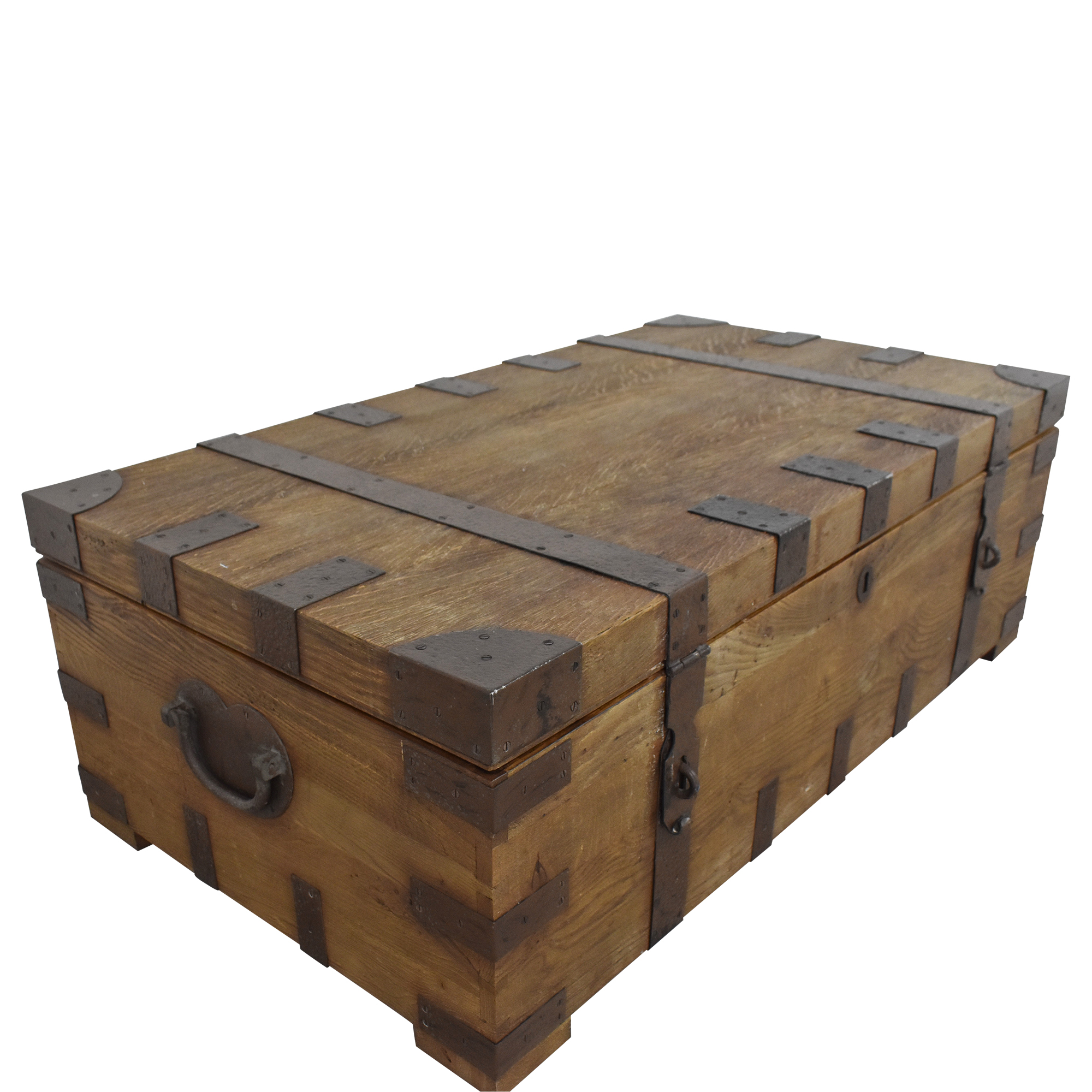 Restoration Hardware Restoration Hardware Heirloom Silver Chest Coffee Trunk Tables