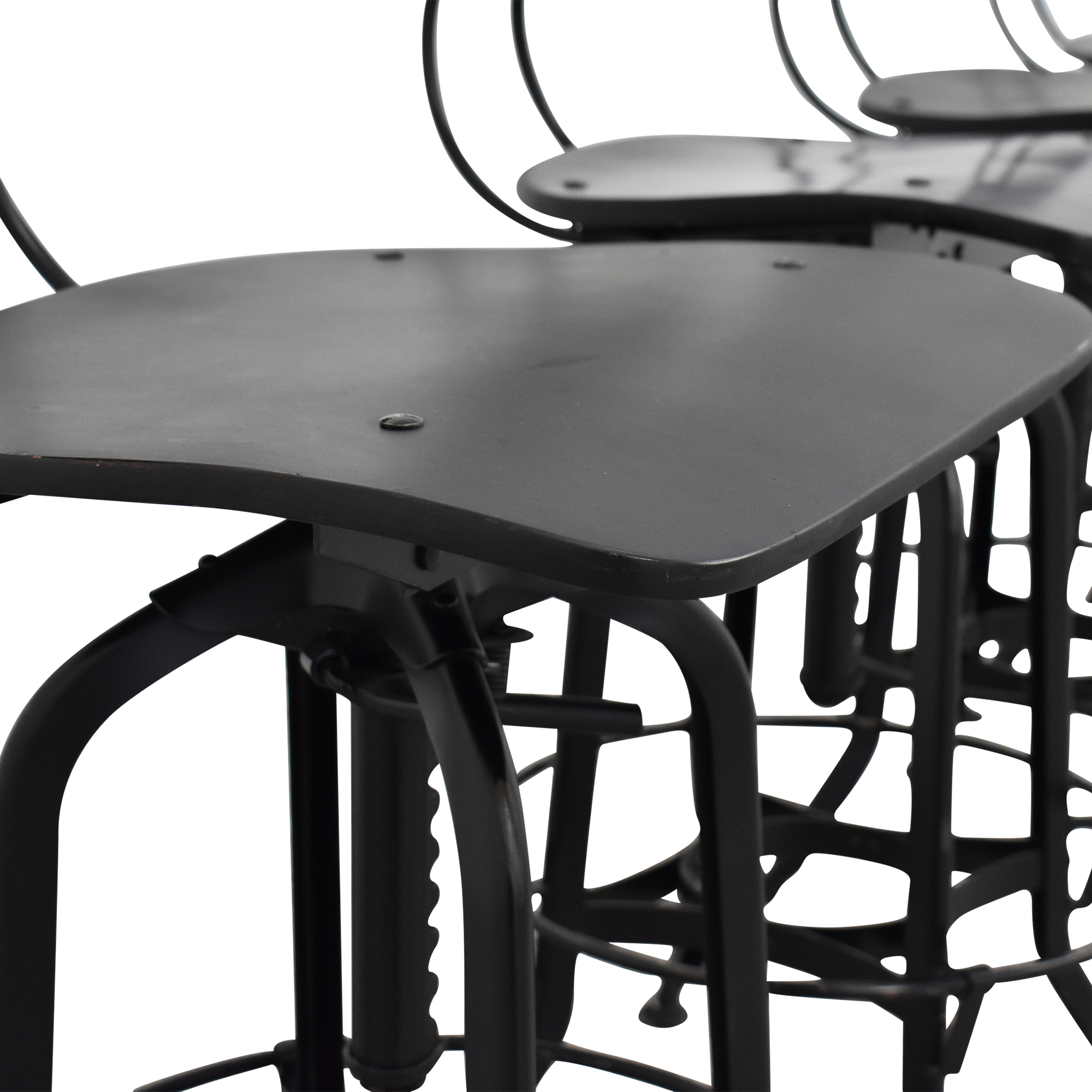Restoration Hardware Restoration Hardware 1940s Vintage Toledo Bar Chairs