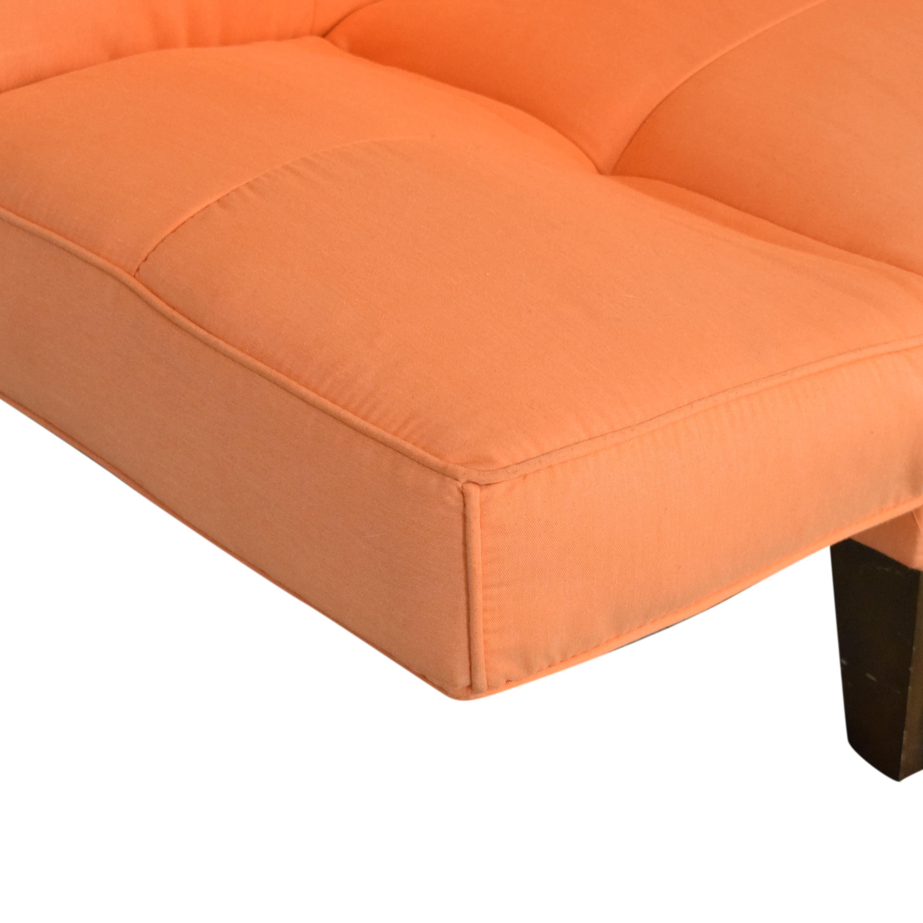 Multi Position Futon with Adjustable Arms Sofa Beds