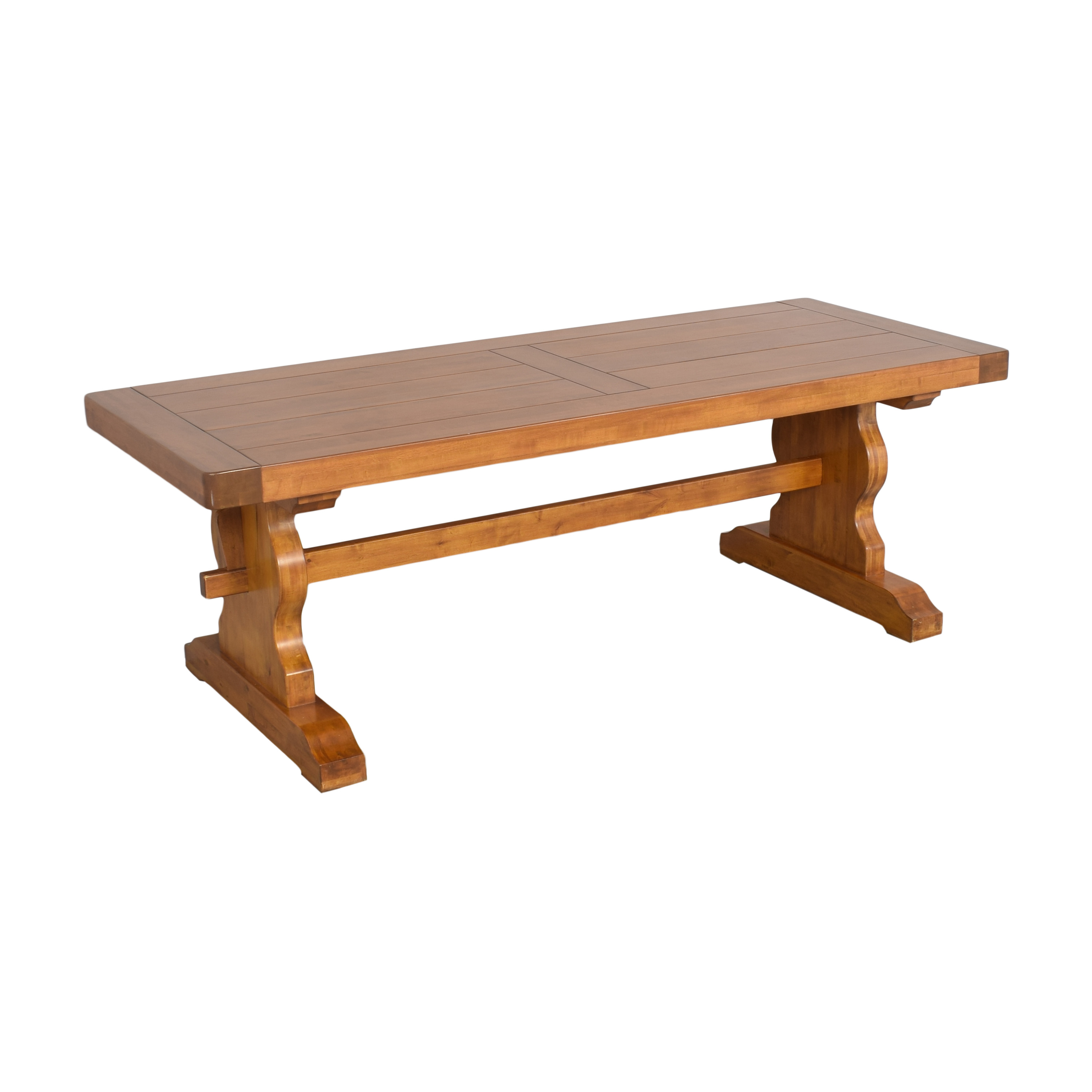 Double Pedestal Dining Table price