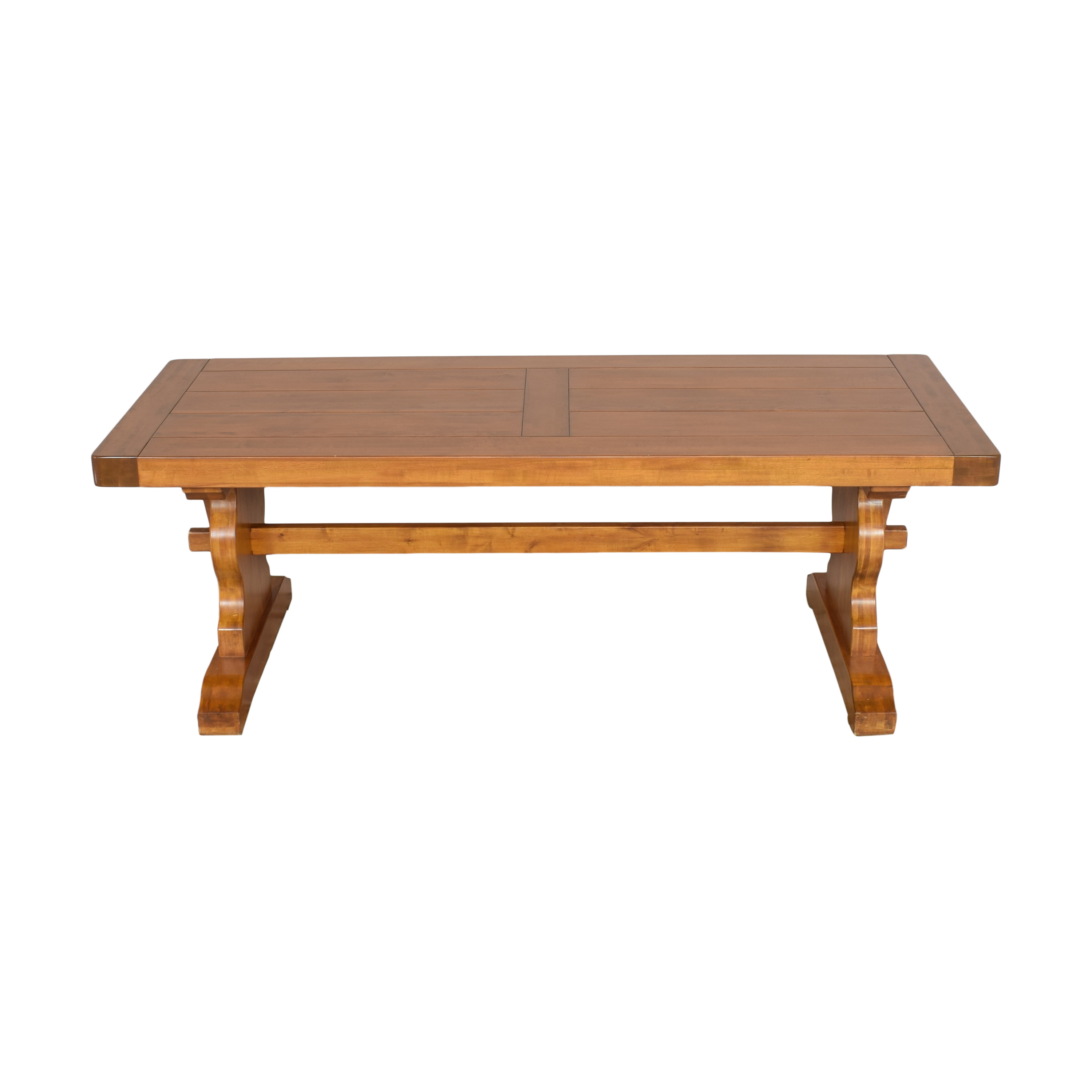 buy Double Pedestal Dining Table  Tables