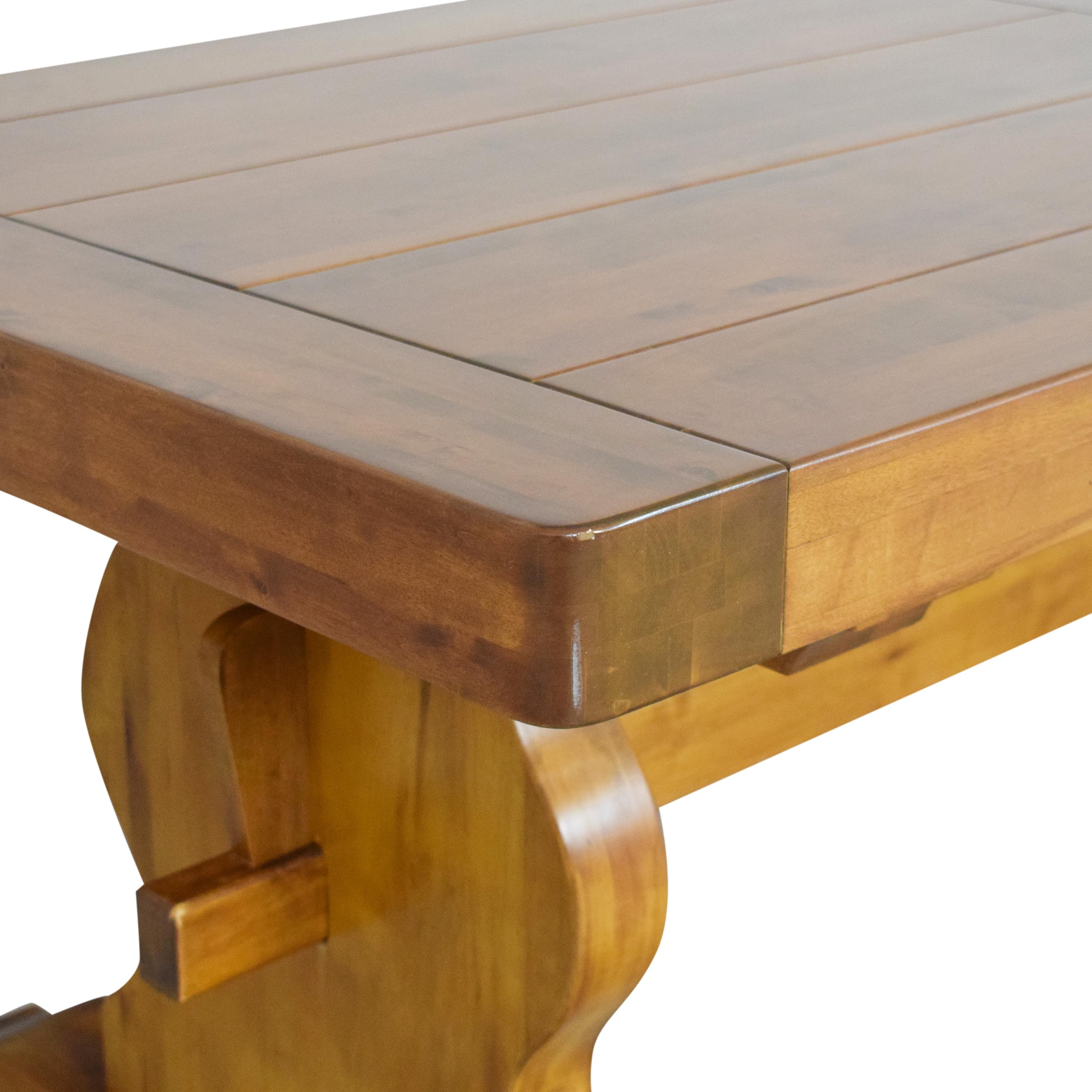 Double Pedestal Dining Table ma