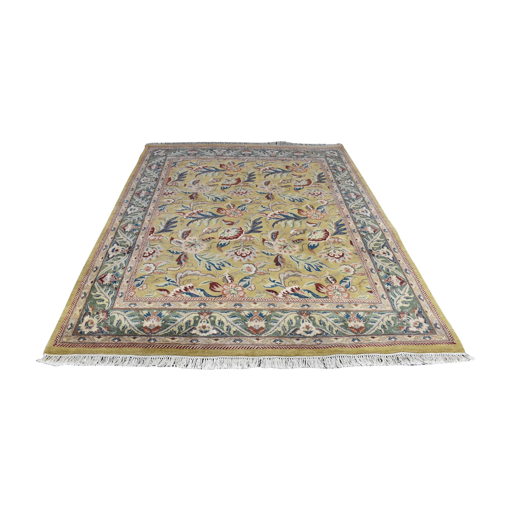 Floral Area Rug ct